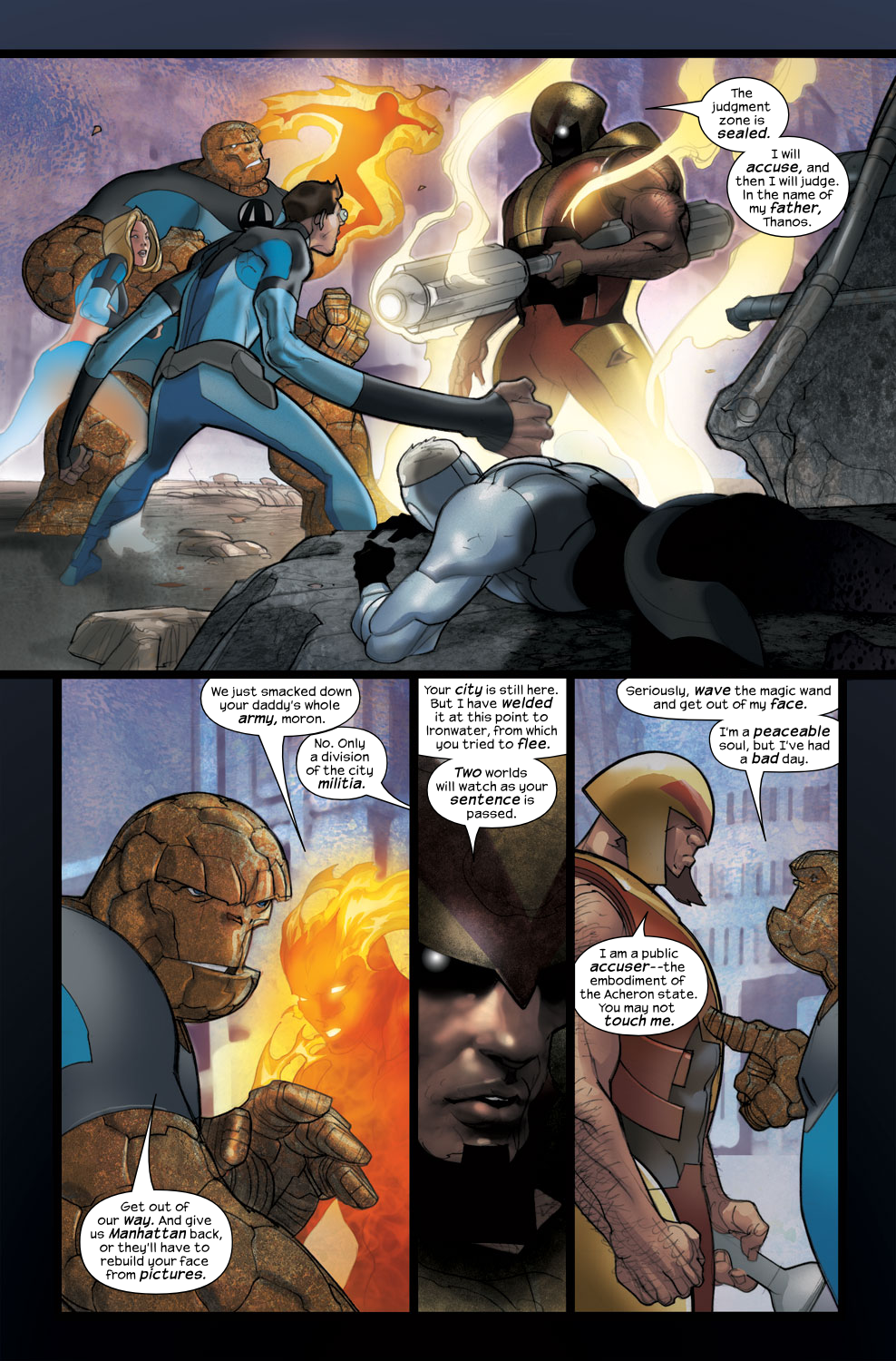 Read online Ultimate Fantastic Four (2004) comic -  Issue #38 - 5