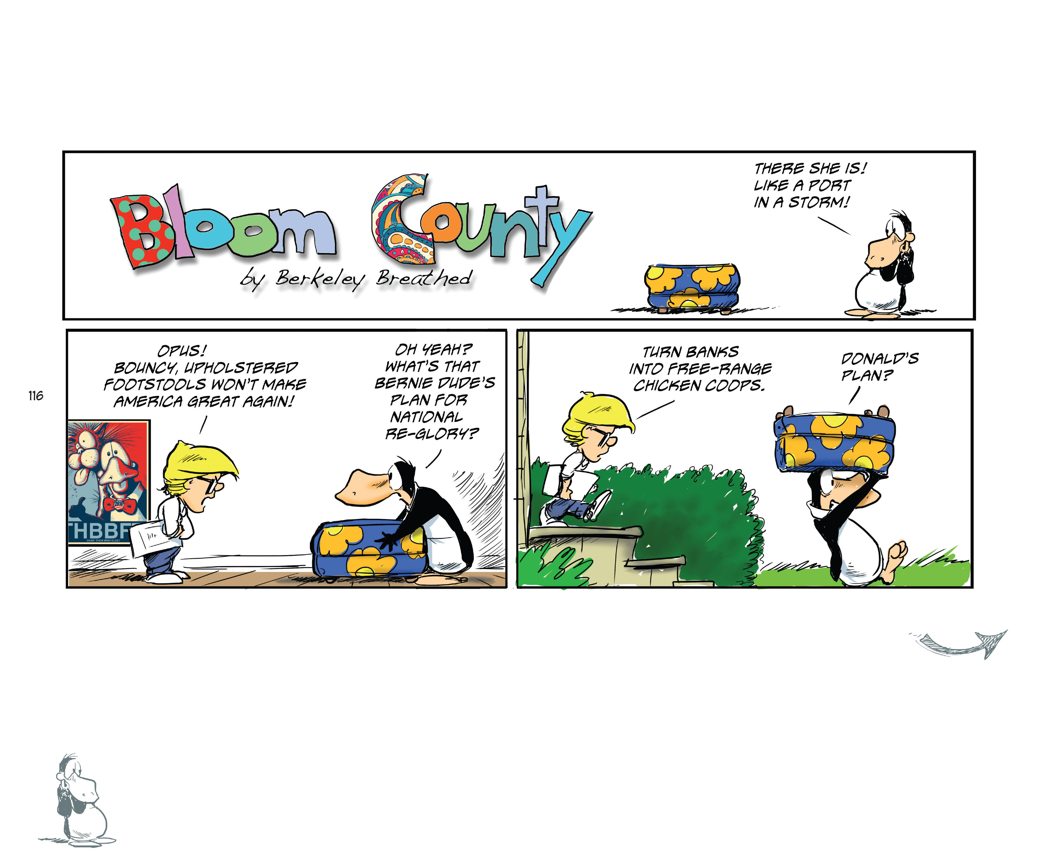 Read online Bloom County Episode XI: A New Hope comic -  Issue # Full - 118