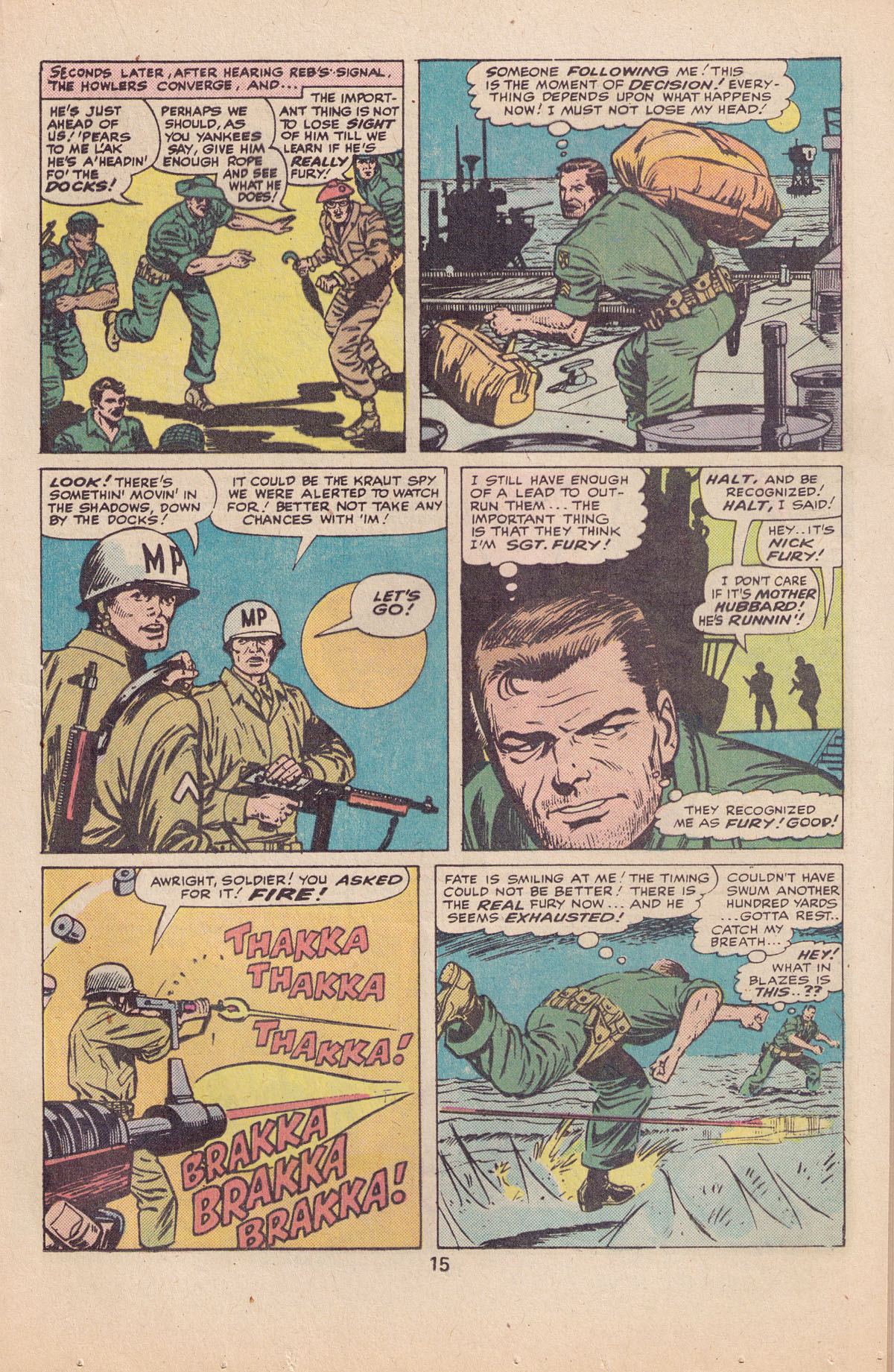 Read online Sgt. Fury comic -  Issue #127 - 17