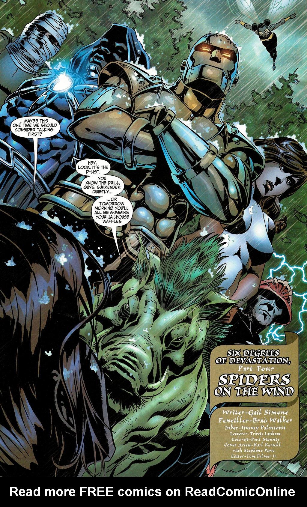 Read online Secret Six (2006) comic -  Issue #4 - 6