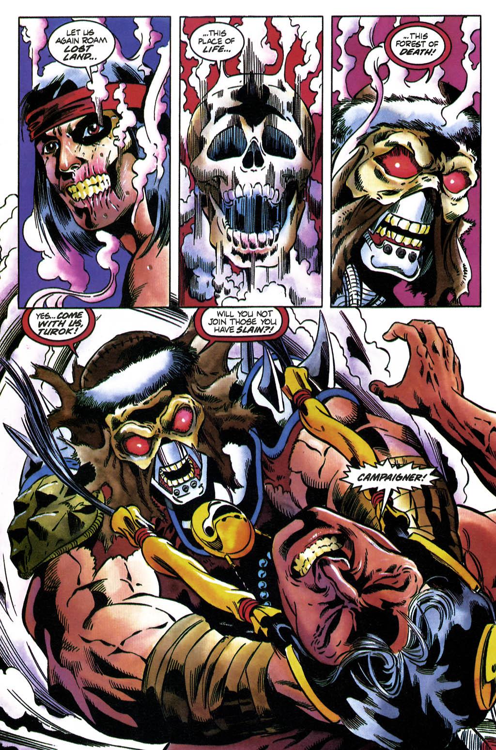 Read online Turok, Dinosaur Hunter (1993) comic -  Issue #36 - 14