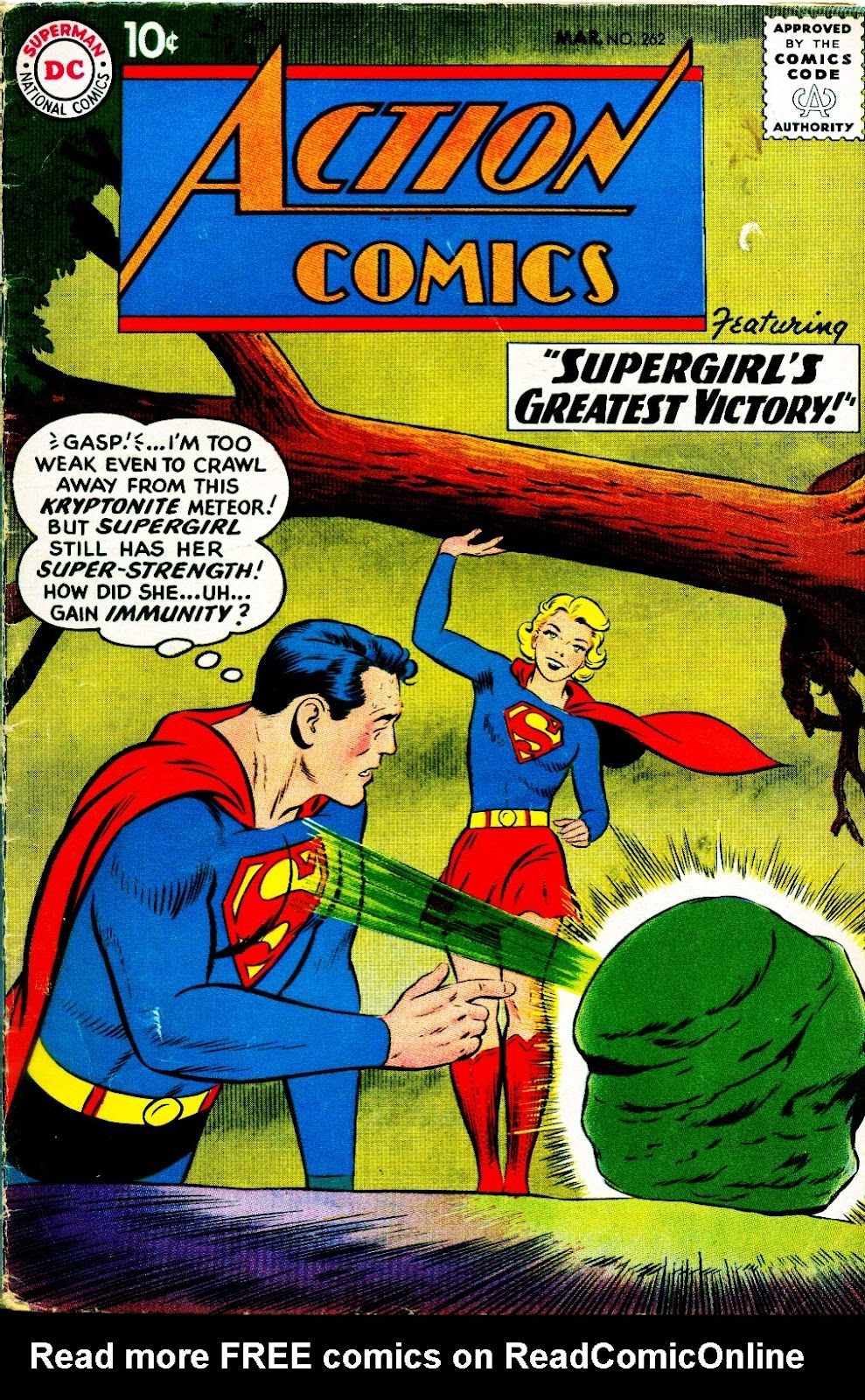 Action Comics (1938) 262 Page 1