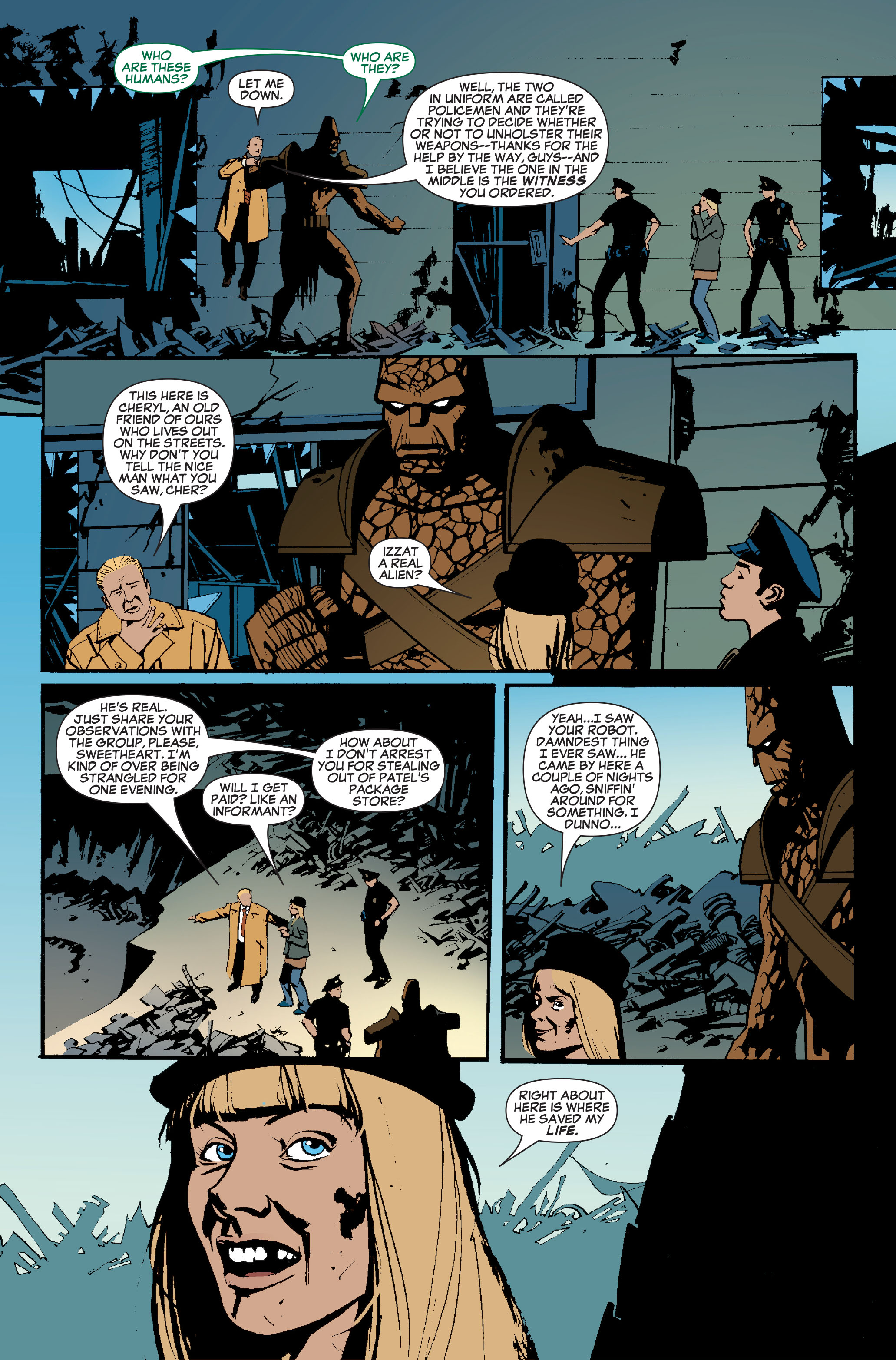 Read online World War Hulk: Front Line comic -  Issue #5 - 17