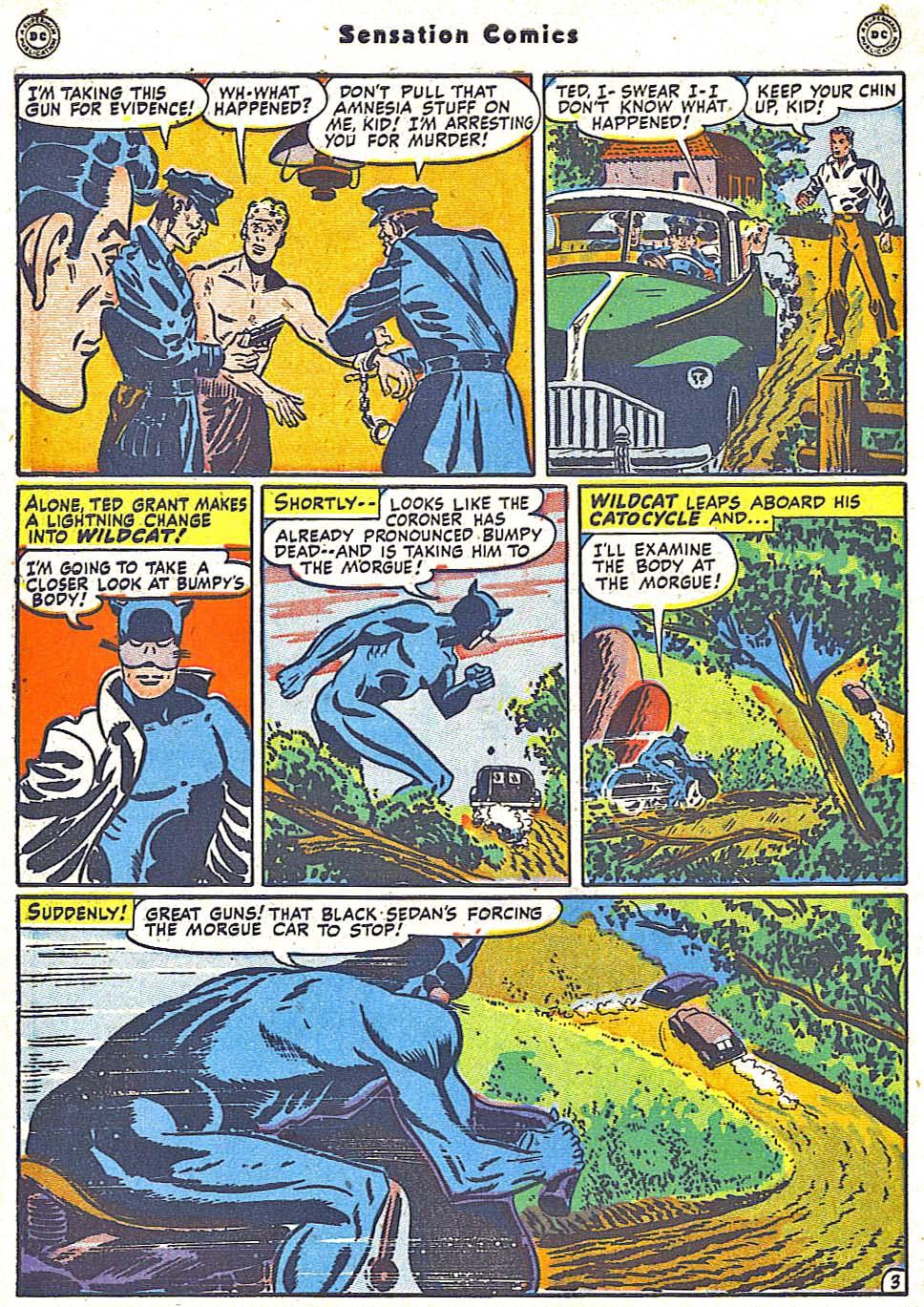 Read online Sensation (Mystery) Comics comic -  Issue #79 - 44