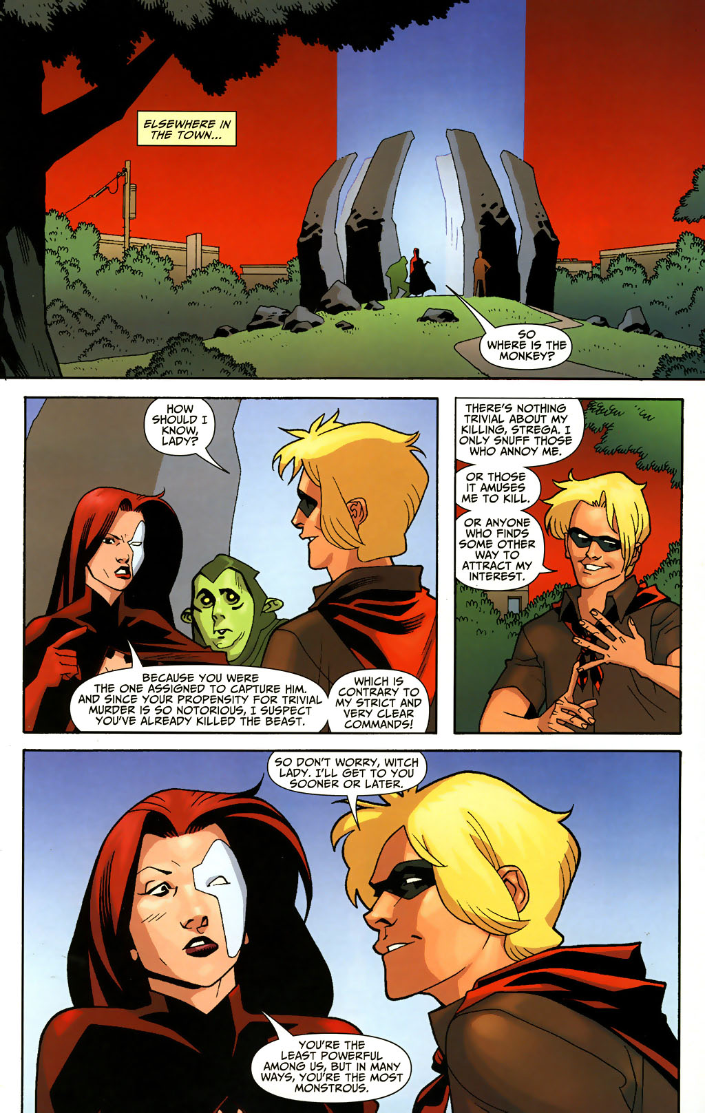 Read online Shadowpact comic -  Issue #3 - 5