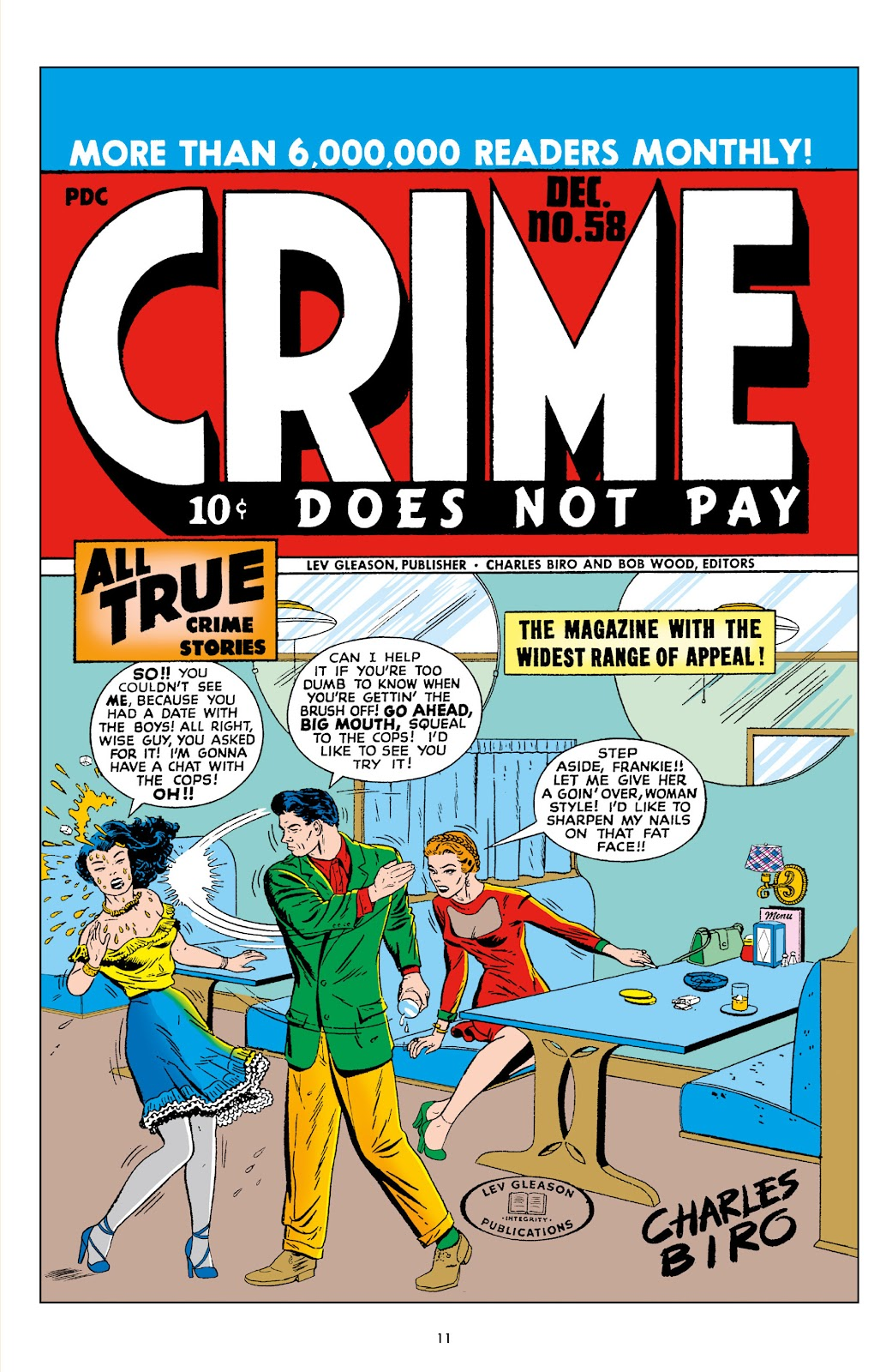 Read online Crime Does Not Pay Archives comic -  Issue # TPB 10 (Part 1) - 13