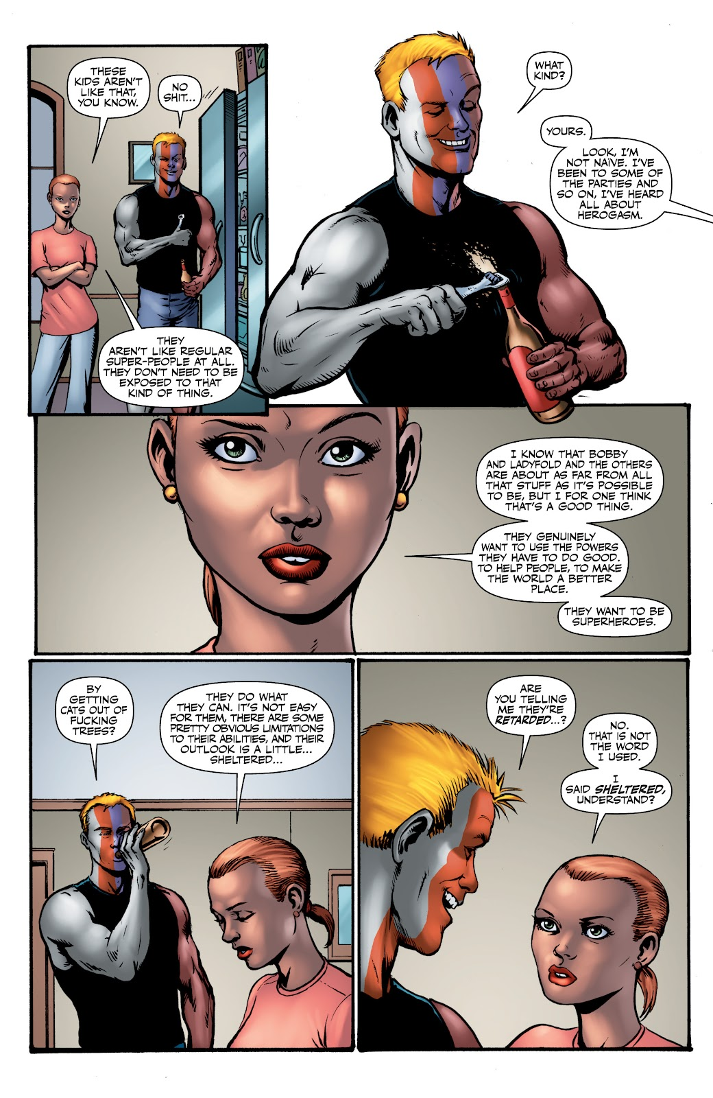 Read online The Boys Omnibus comic -  Issue # TPB 4 (Part 1) - 66