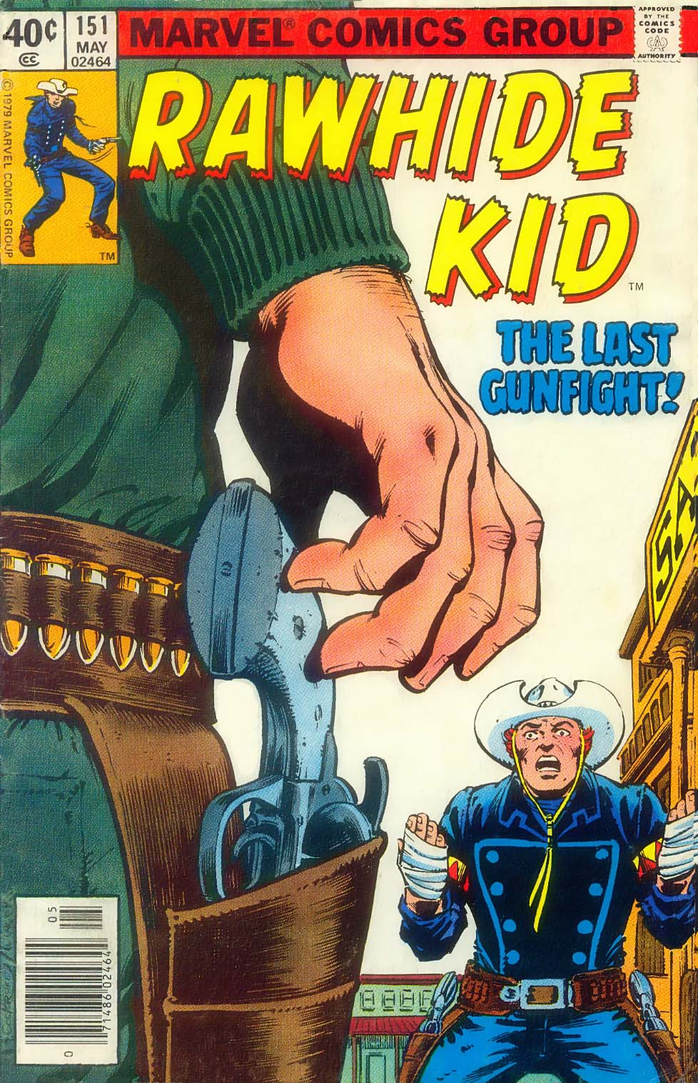 The Rawhide Kid (1955) issue 151 - Page 1