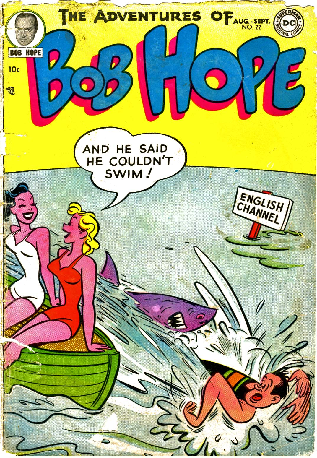 The Adventures of Bob Hope issue 22 - Page 1