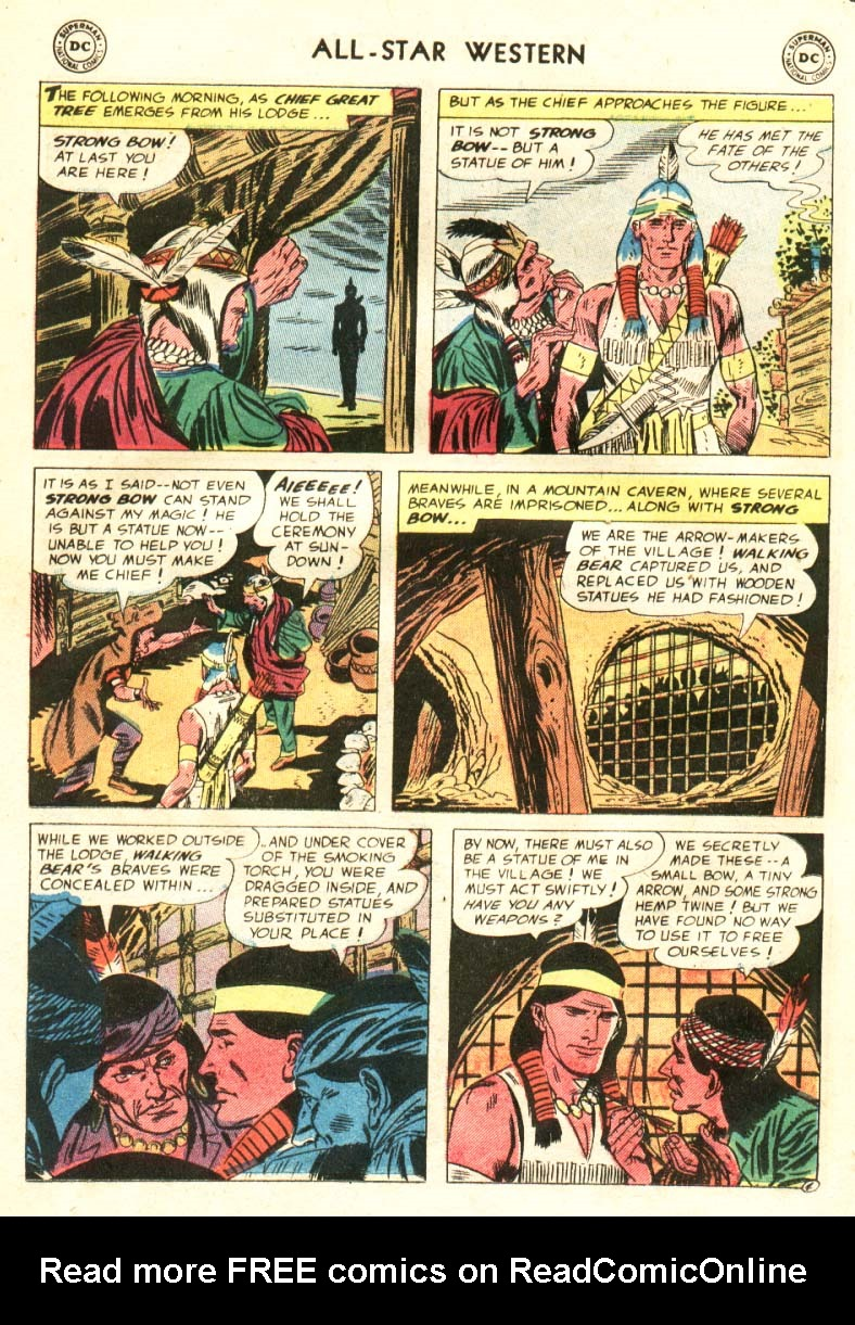 Read online All-Star Western (1951) comic -  Issue #91 - 11