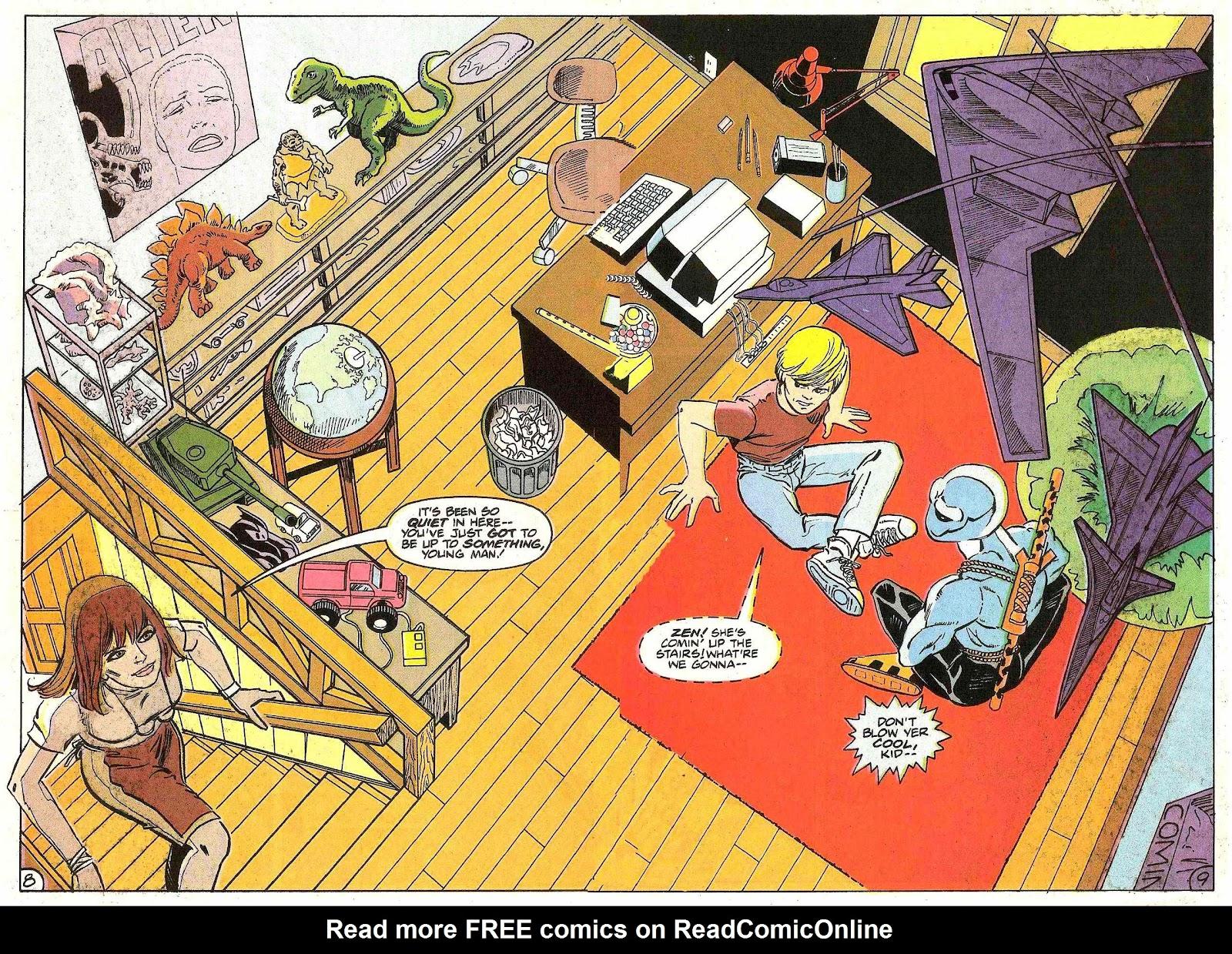 Read online Zen Intergalactic Ninja (1992) comic -  Issue #2 - 9