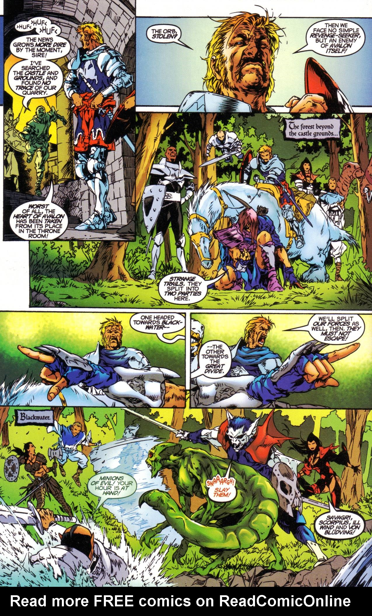 Read online Avataars: Covenant of the Shield comic -  Issue #1 - 18