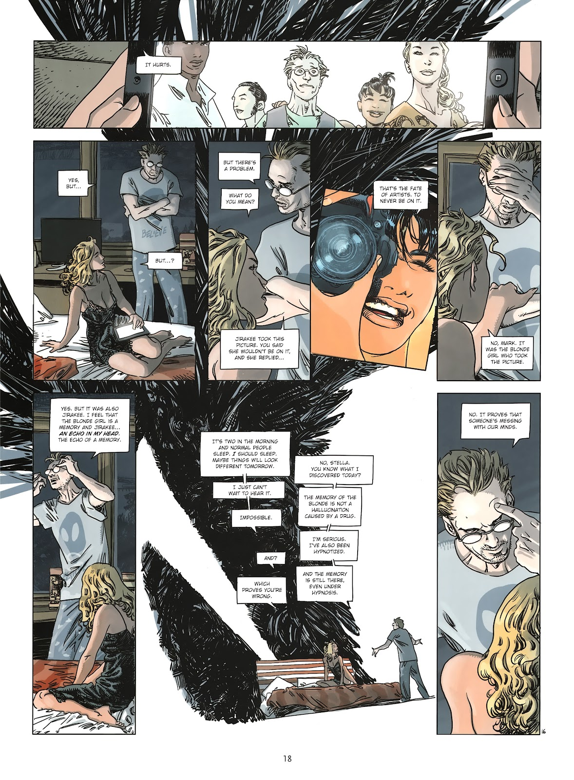 Read online Cutting Edge (2013) comic -  Issue #2 - 18