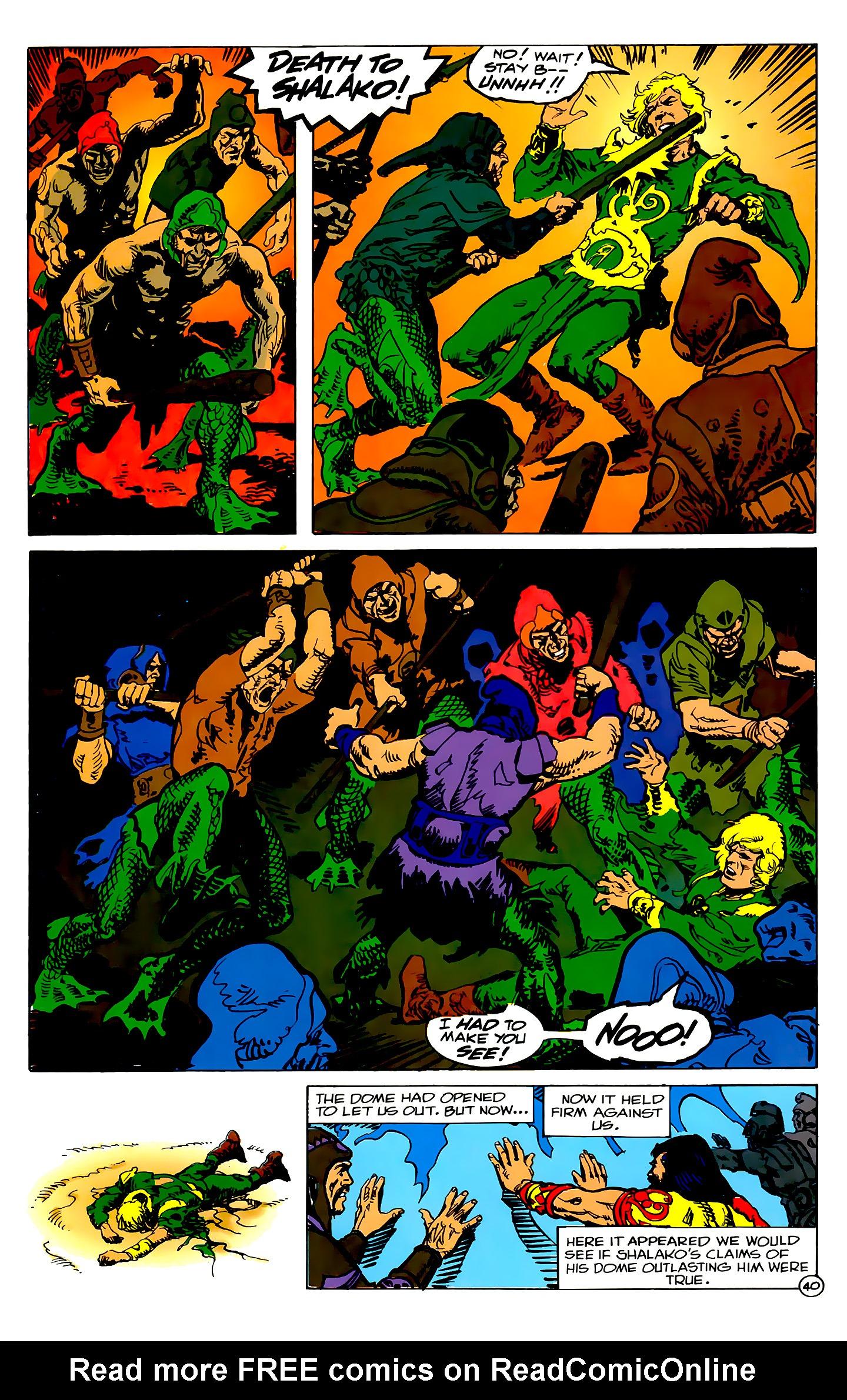 Read online Atlantis Chronicles comic -  Issue #2 - 40
