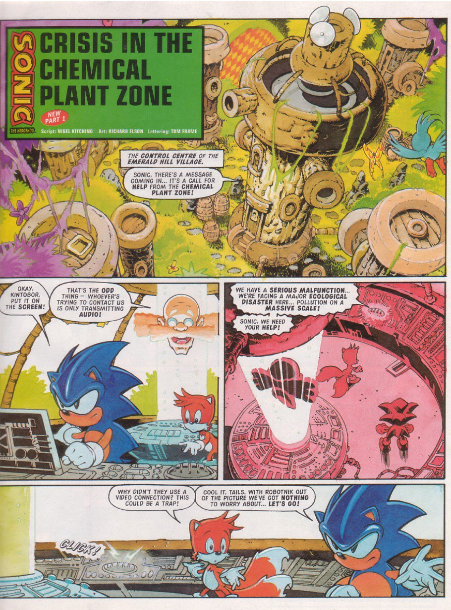 Read online Sonic the Comic comic -  Issue #114 - 3