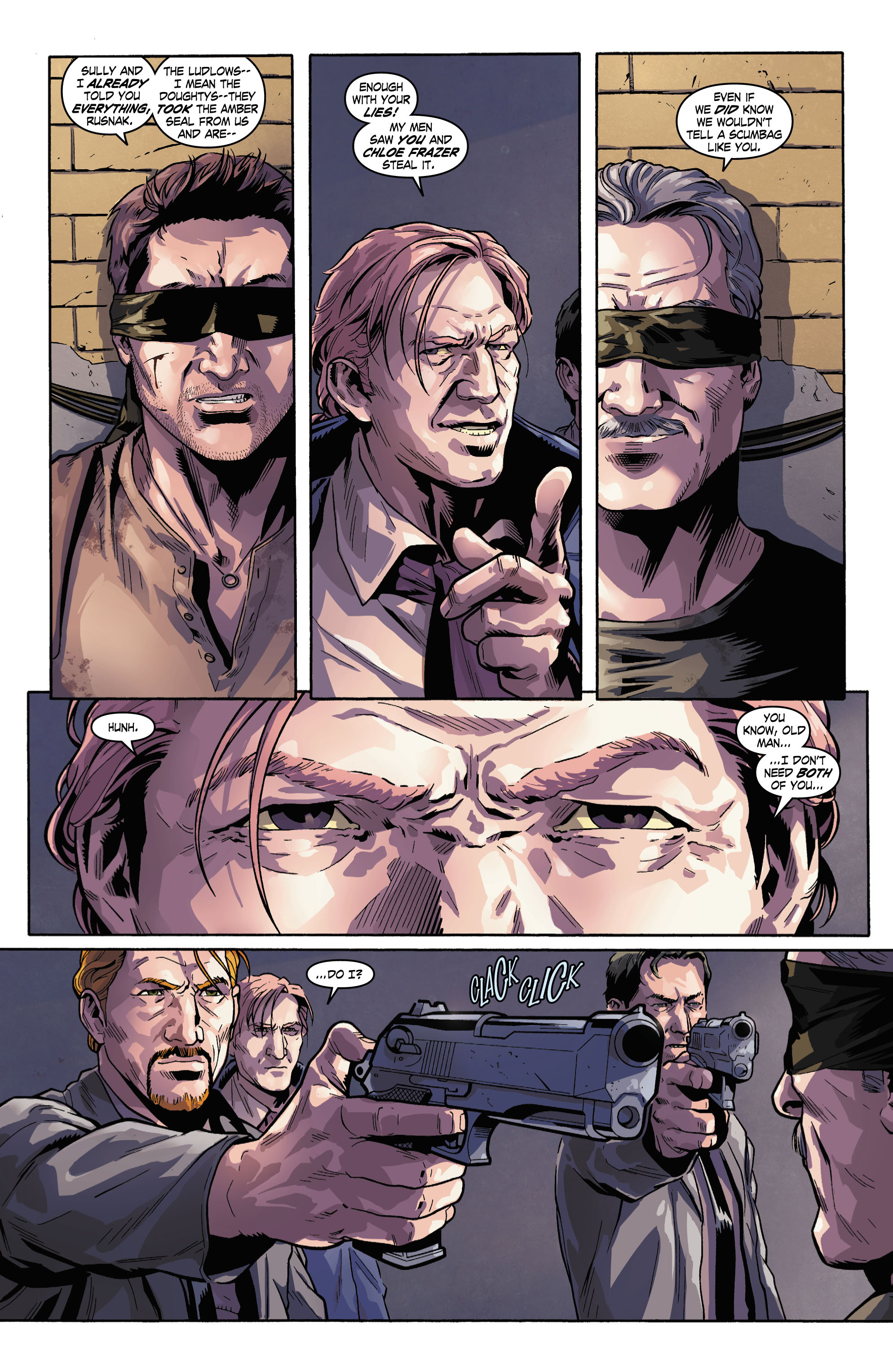 Read online Uncharted comic -  Issue #3 - 5