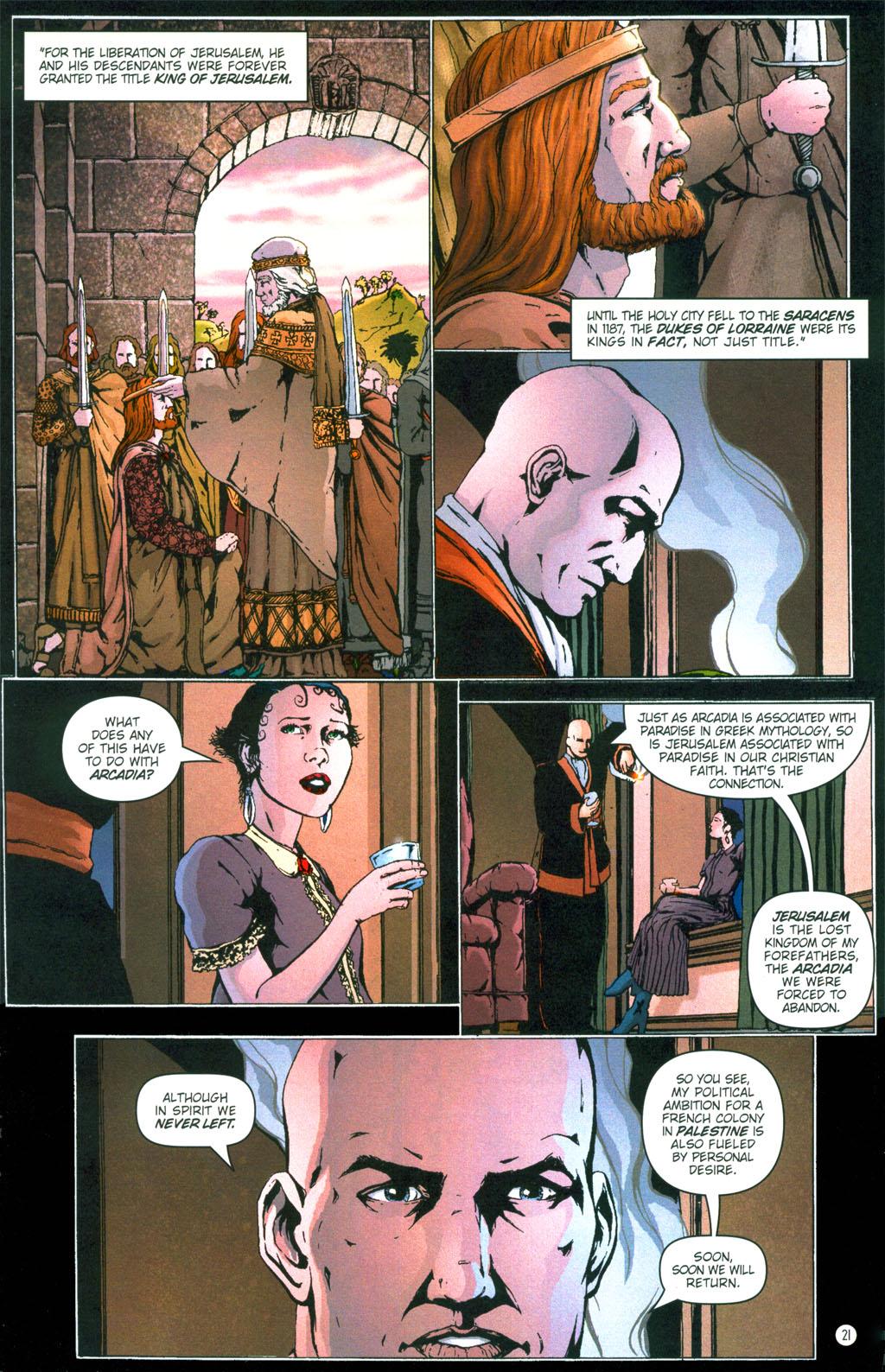 Read online Rex Mundi comic -  Issue #6 - 24