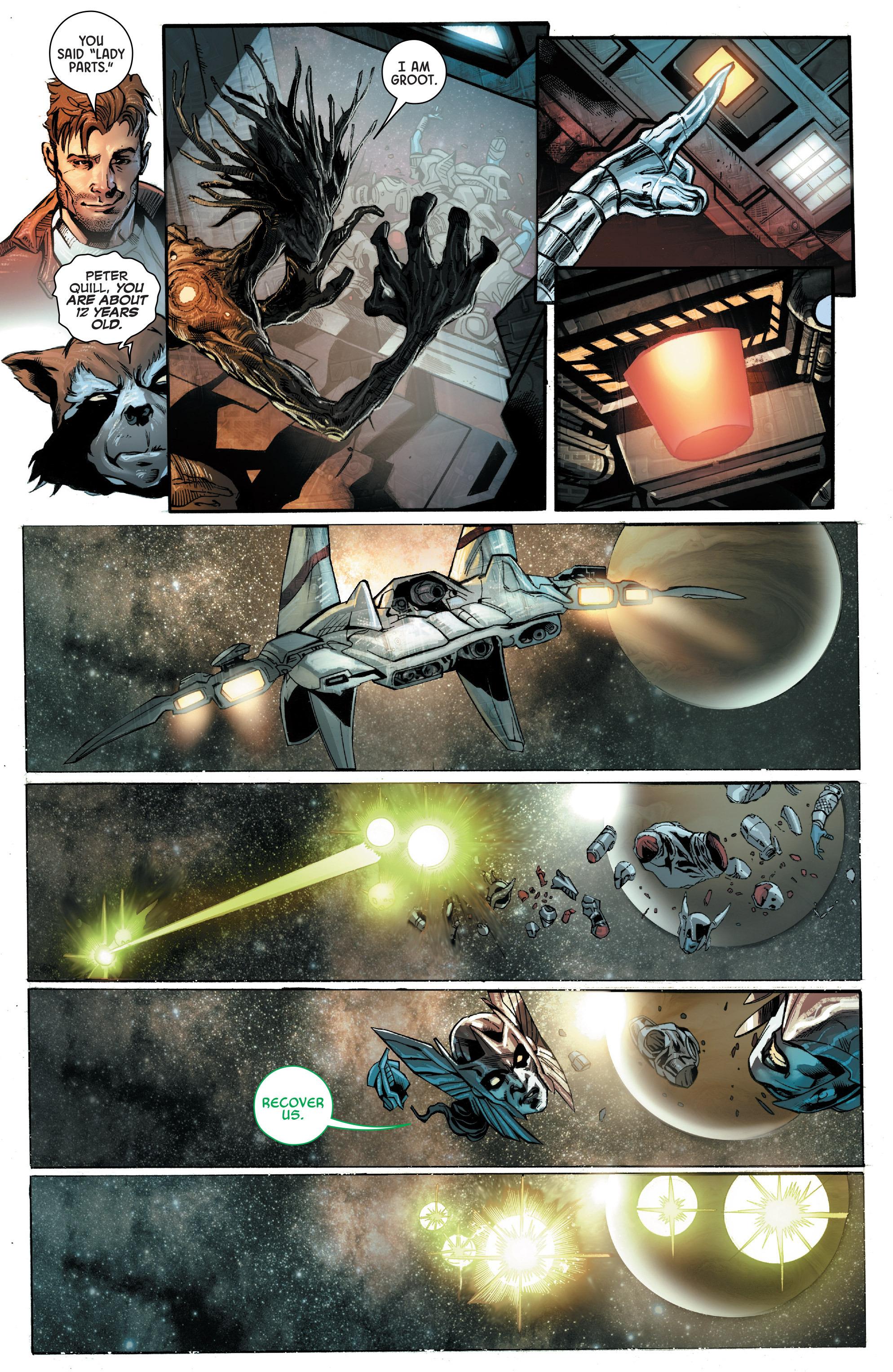 Read online Angela: Asgard's Assassin comic -  Issue #5 - 5