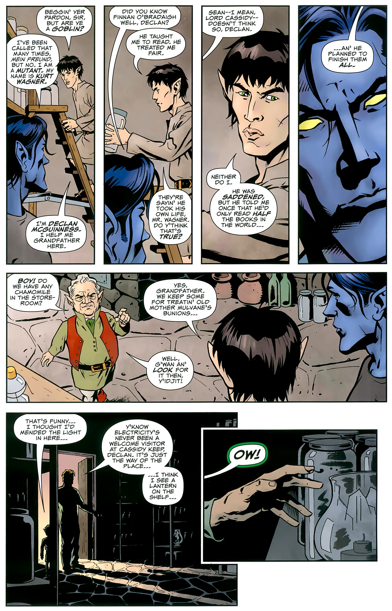 Read online Uncanny X-Men: First Class comic -  Issue #8 - 8