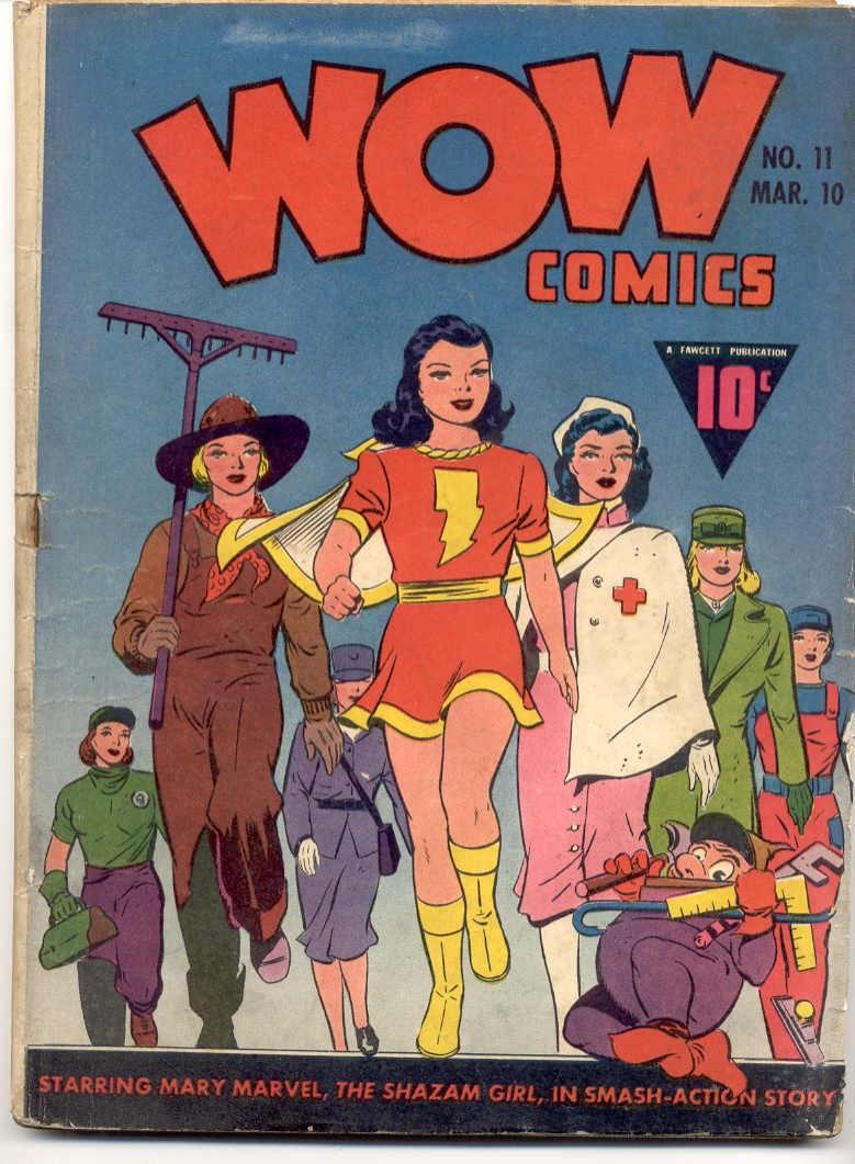 Wow Comics 11 Page 1