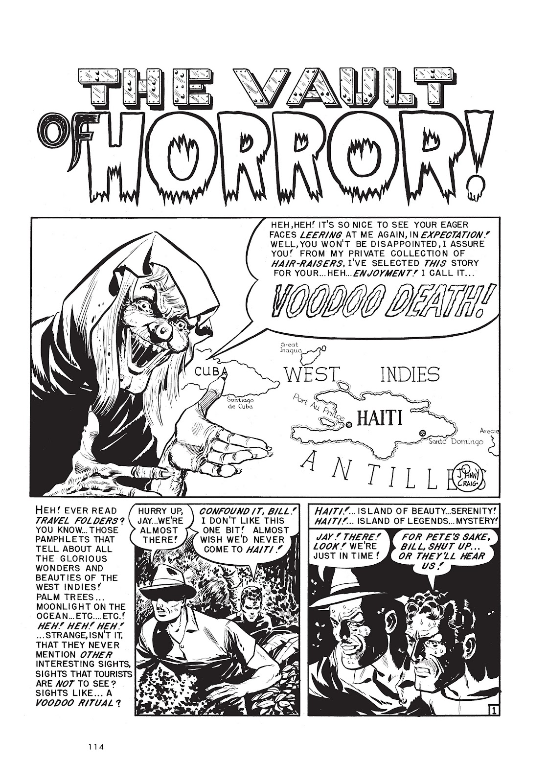 Read online Voodoo Vengeance and Other Stories comic -  Issue # TPB (Part 2) - 32