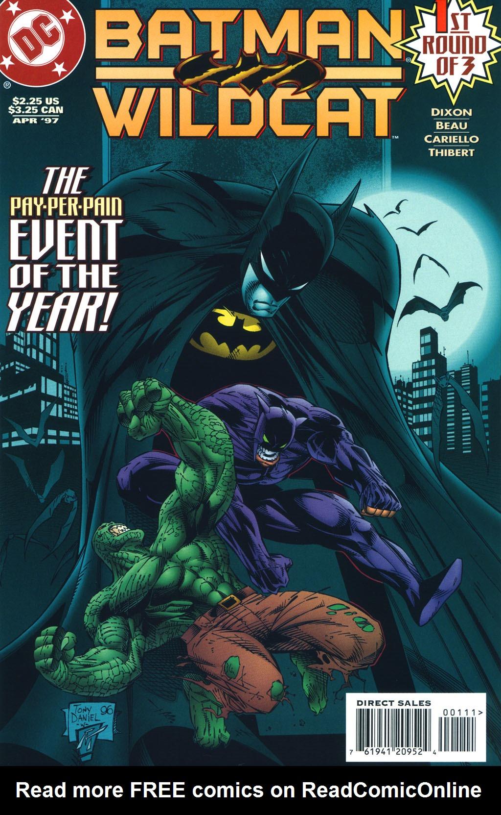 Batman/Wildcat (1997) 1 Page 1