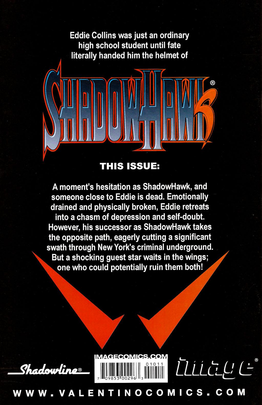 Read online ShadowHawk (2005) comic -  Issue #10 - 27