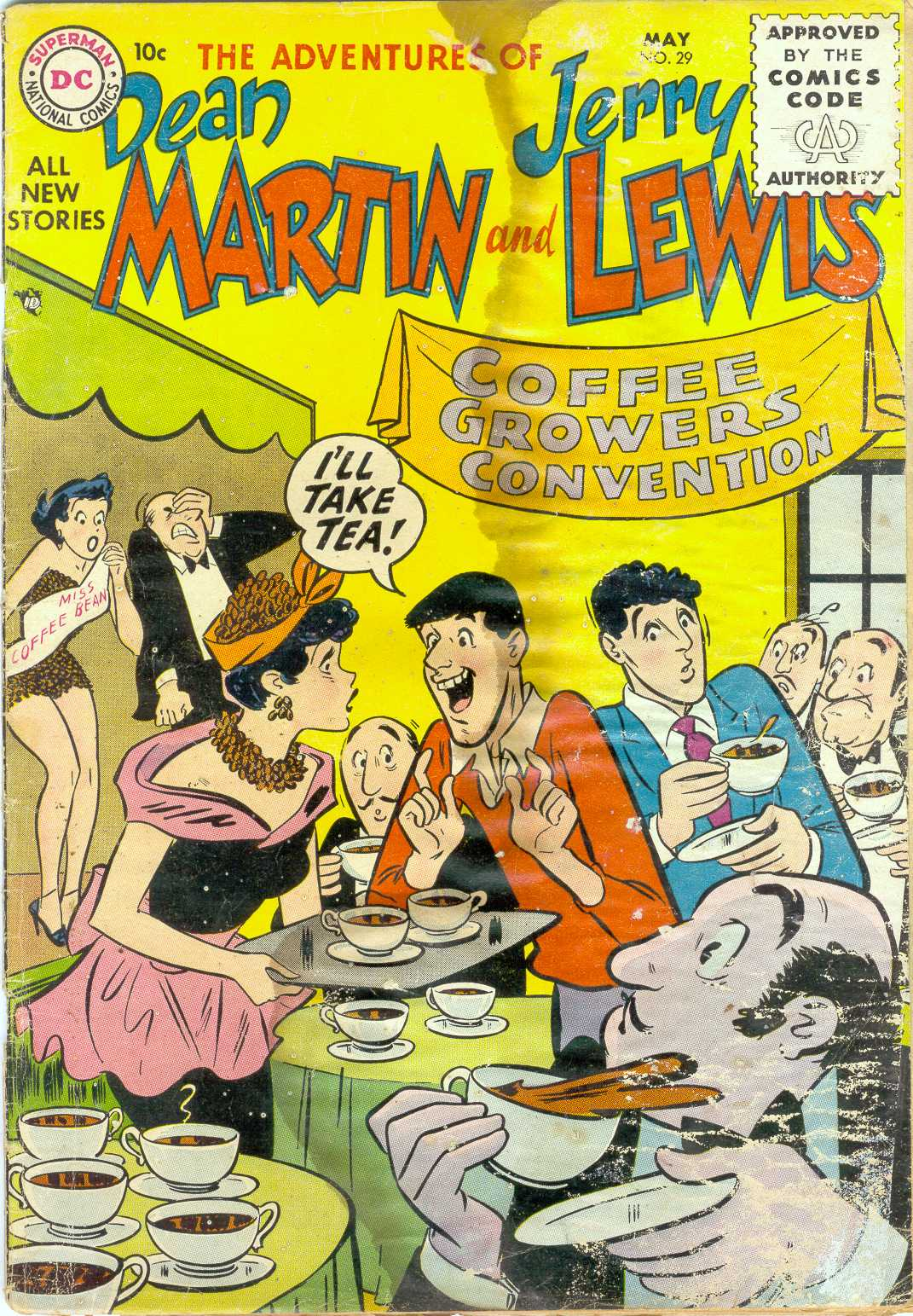 The Adventures of Dean Martin and Jerry Lewis 29 Page 1