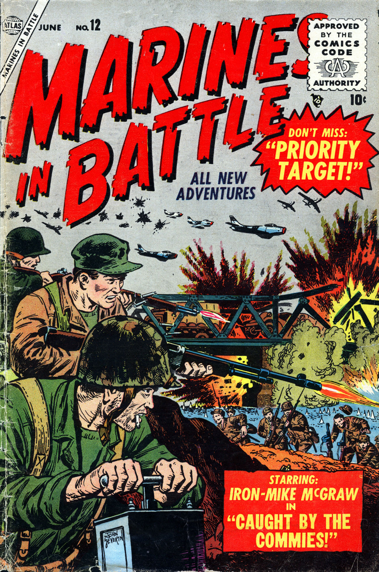 Marines in Battle 12 Page 1