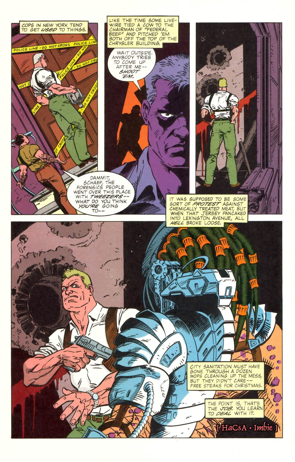 Predator (1989) issue 2 - Page 3