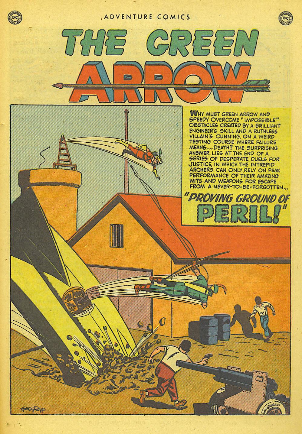 Read online Adventure Comics (1938) comic -  Issue #155 - 39