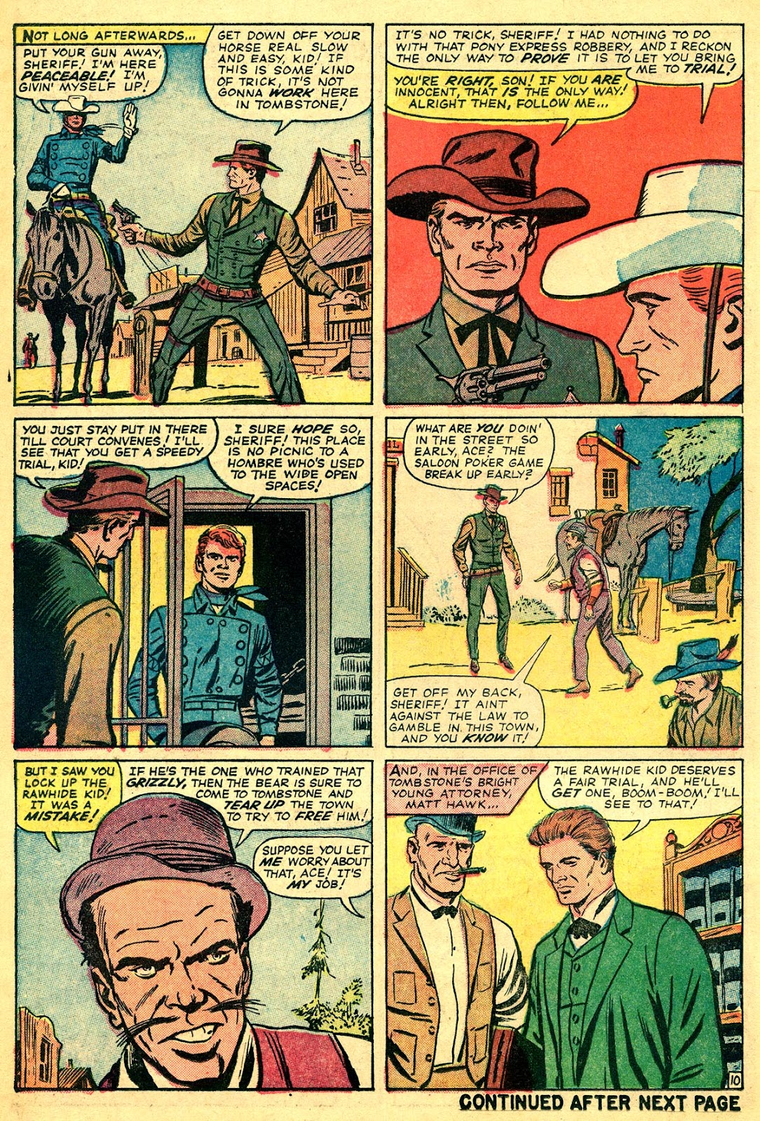 The Rawhide Kid (1955) issue 40 - Page 14