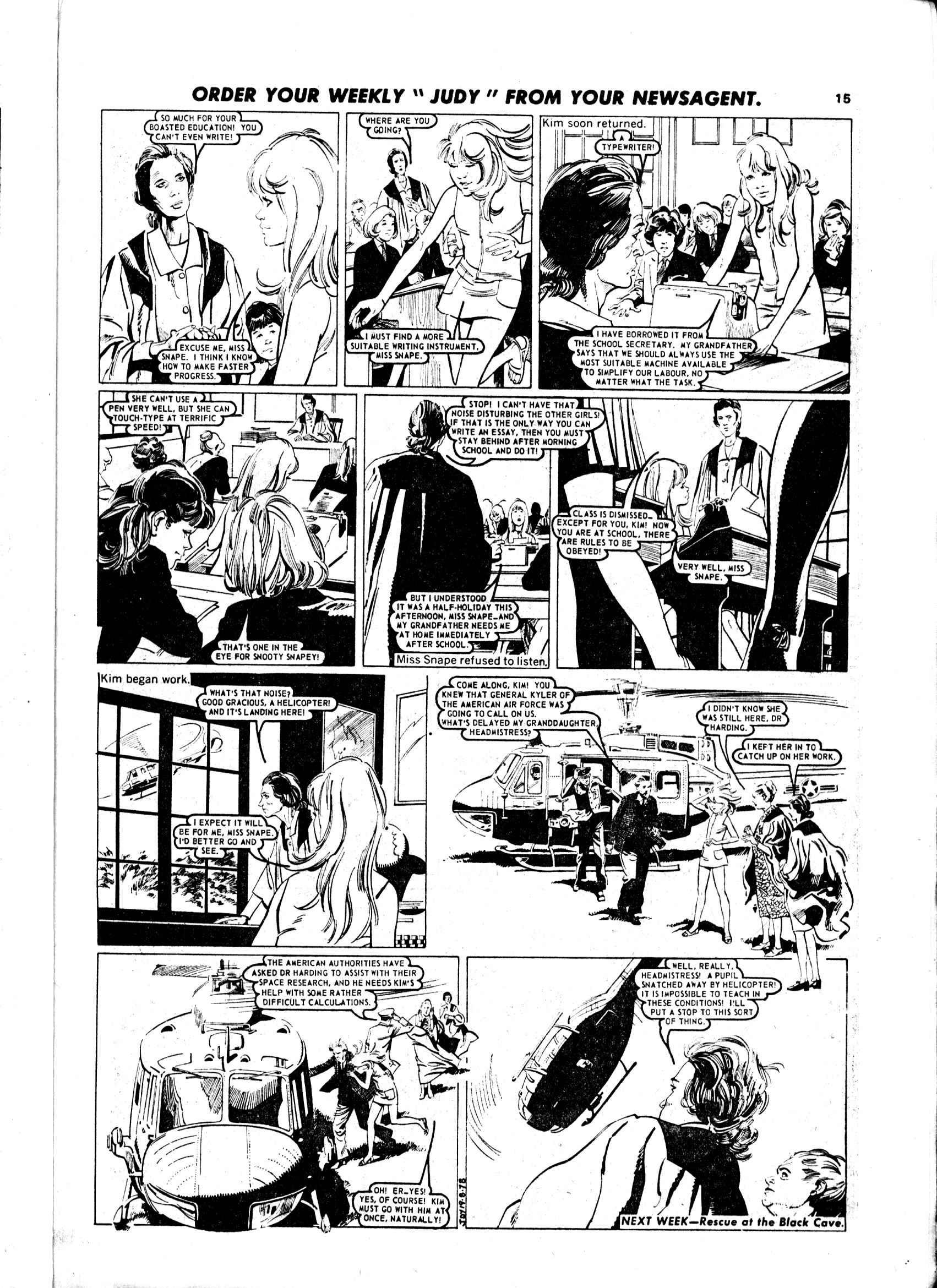 Read online Judy comic -  Issue #971 - 15
