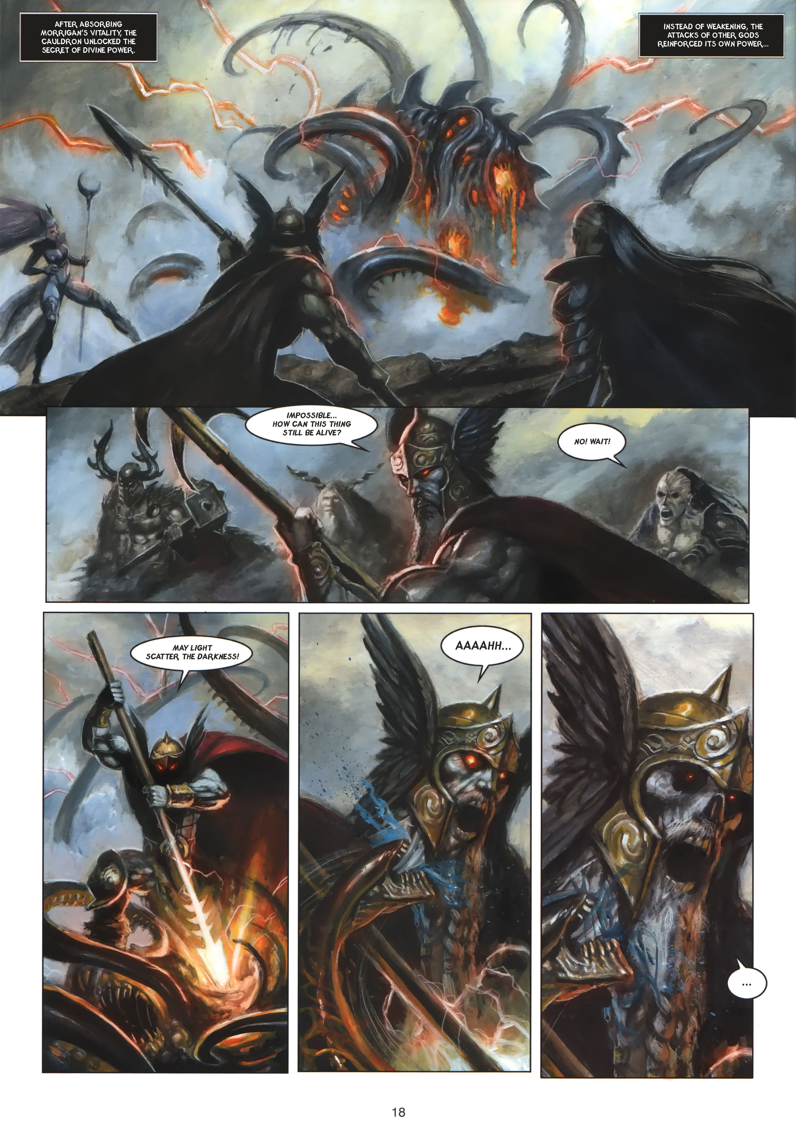 Read online Arawn comic -  Issue #6 - 19