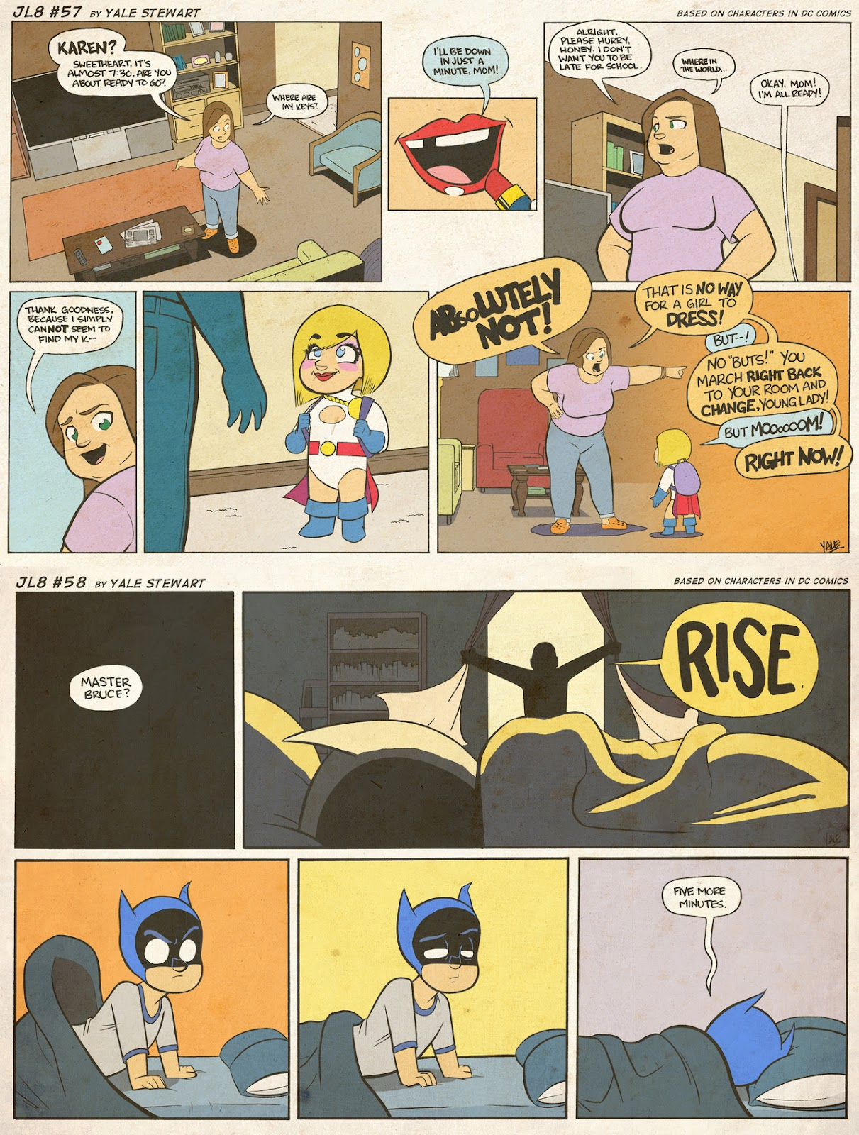 Read online JL8 – The Complete Collection comic -  Issue # TPB (Part 1) - 32