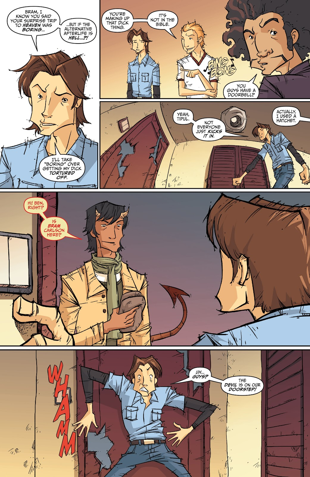 Read online The End Times of Bram and Ben comic -  Issue #2 - 5