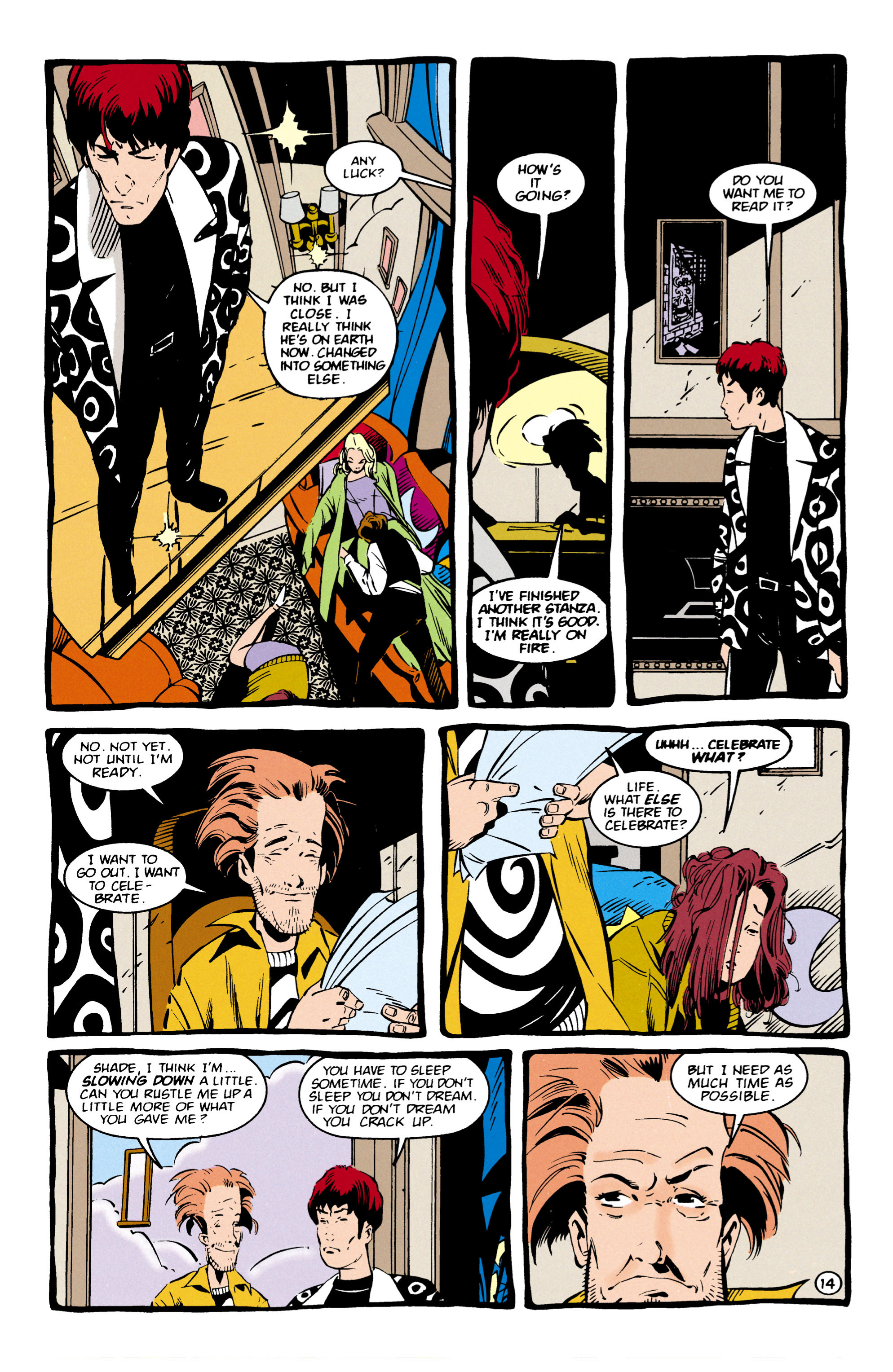 Read online Shade, the Changing Man comic -  Issue #57 - 15