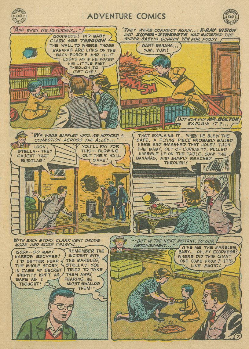 Read online Adventure Comics (1938) comic -  Issue #221 - 8