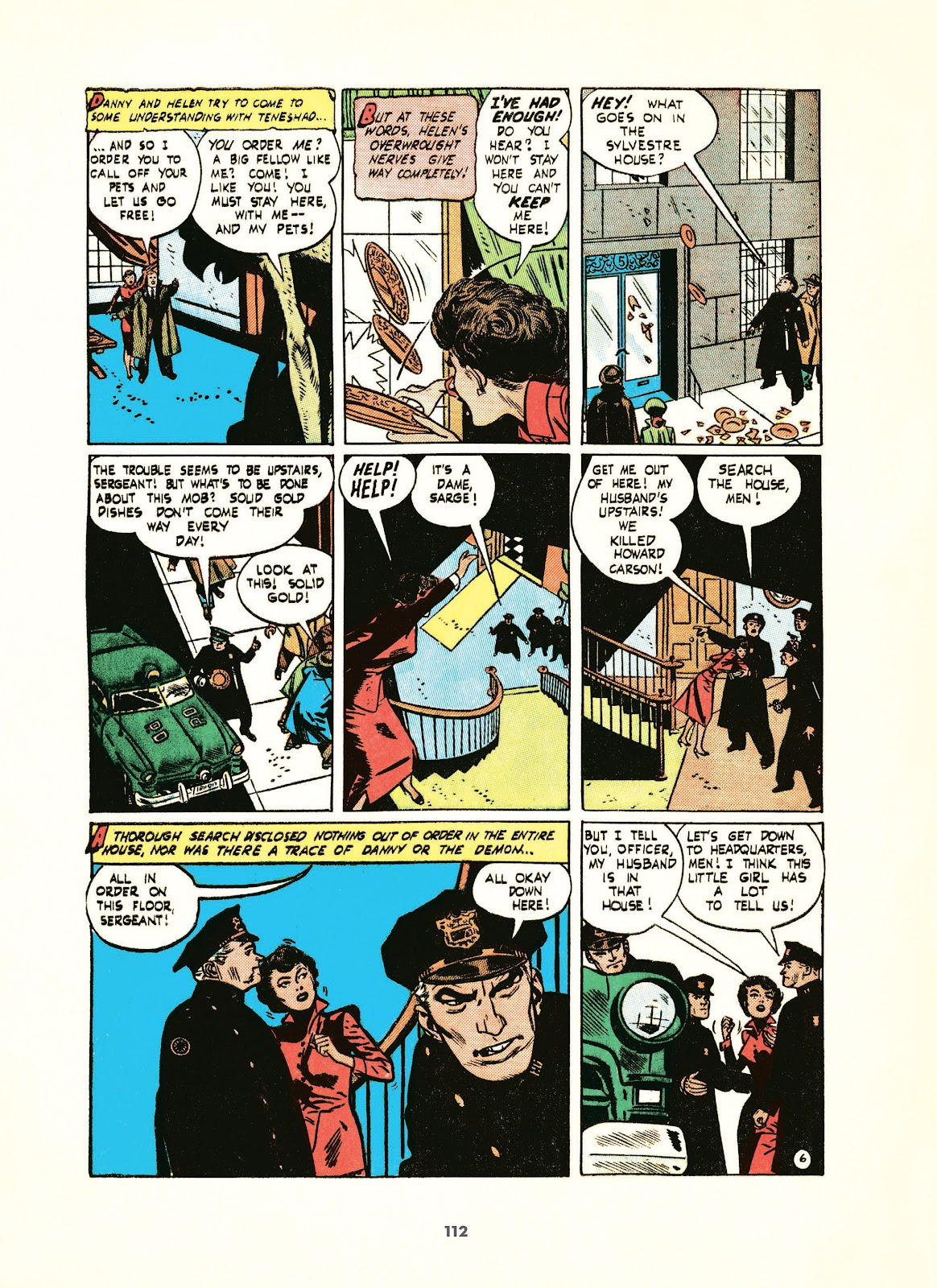 Read online Setting the Standard: Comics by Alex Toth 1952-1954 comic -  Issue # TPB (Part 2) - 13