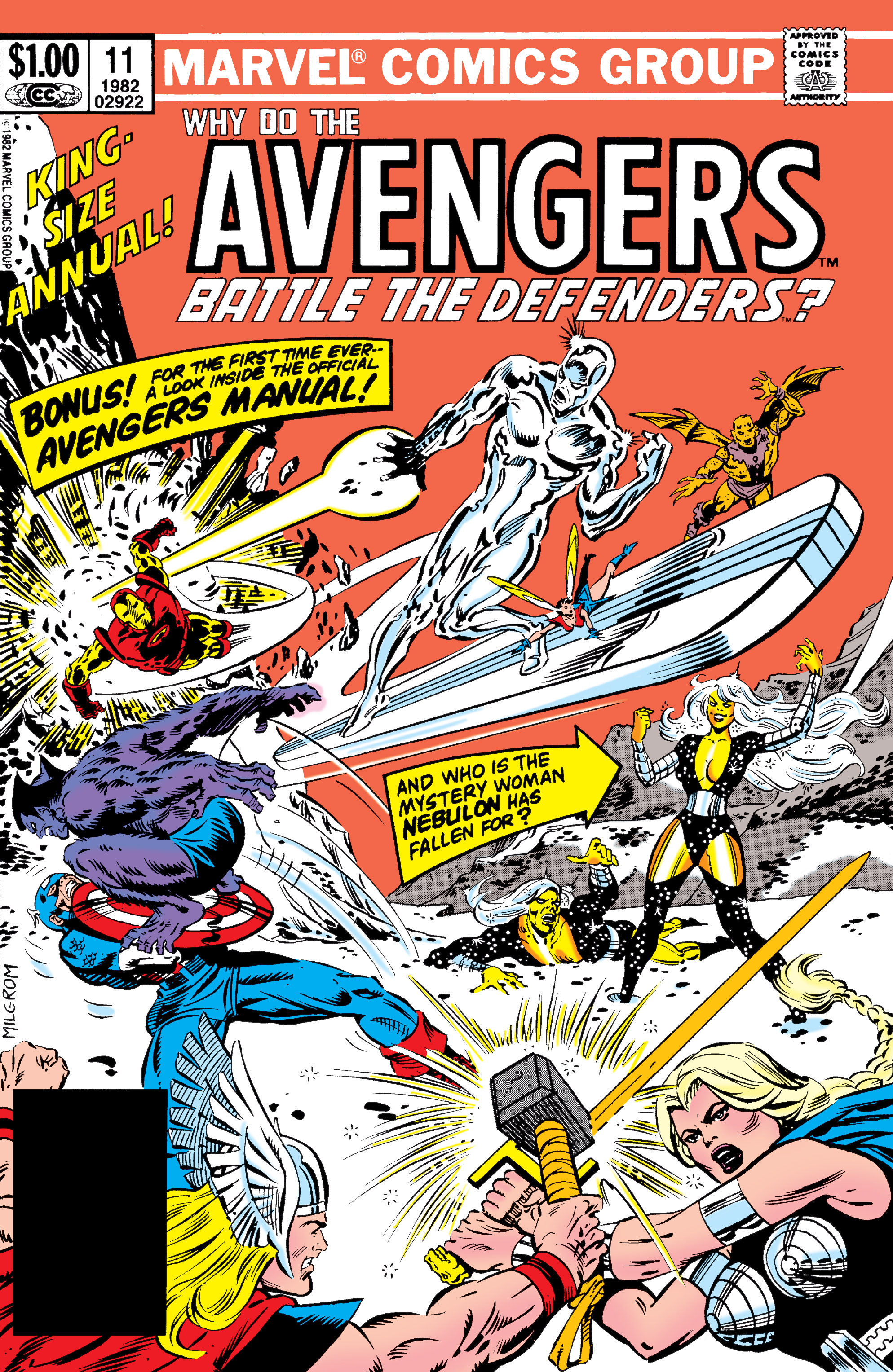 The Avengers (1963) issue _Annual_11 - Page 1