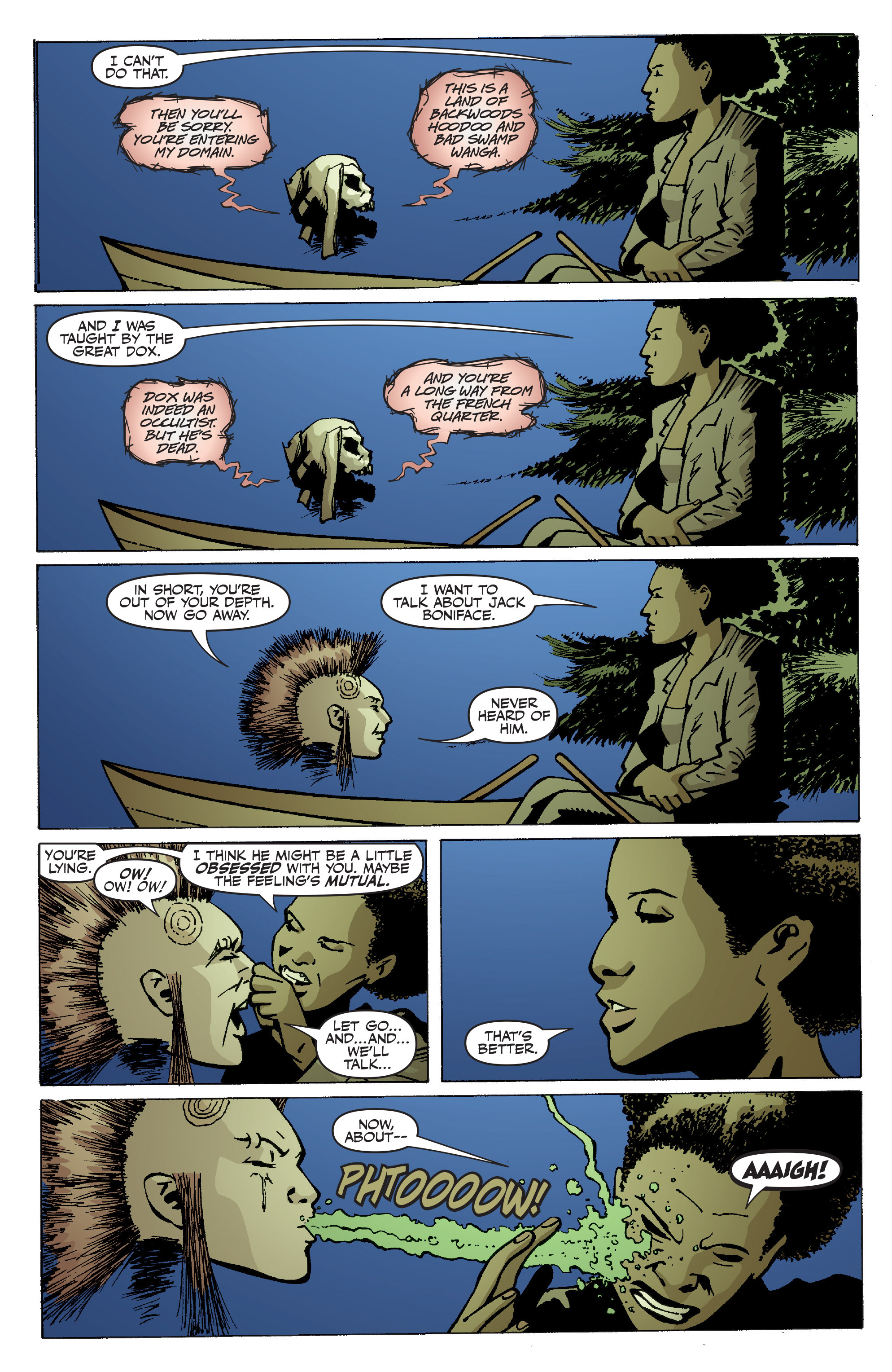 Read online Shadowman: End Times comic -  Issue #1 - 16