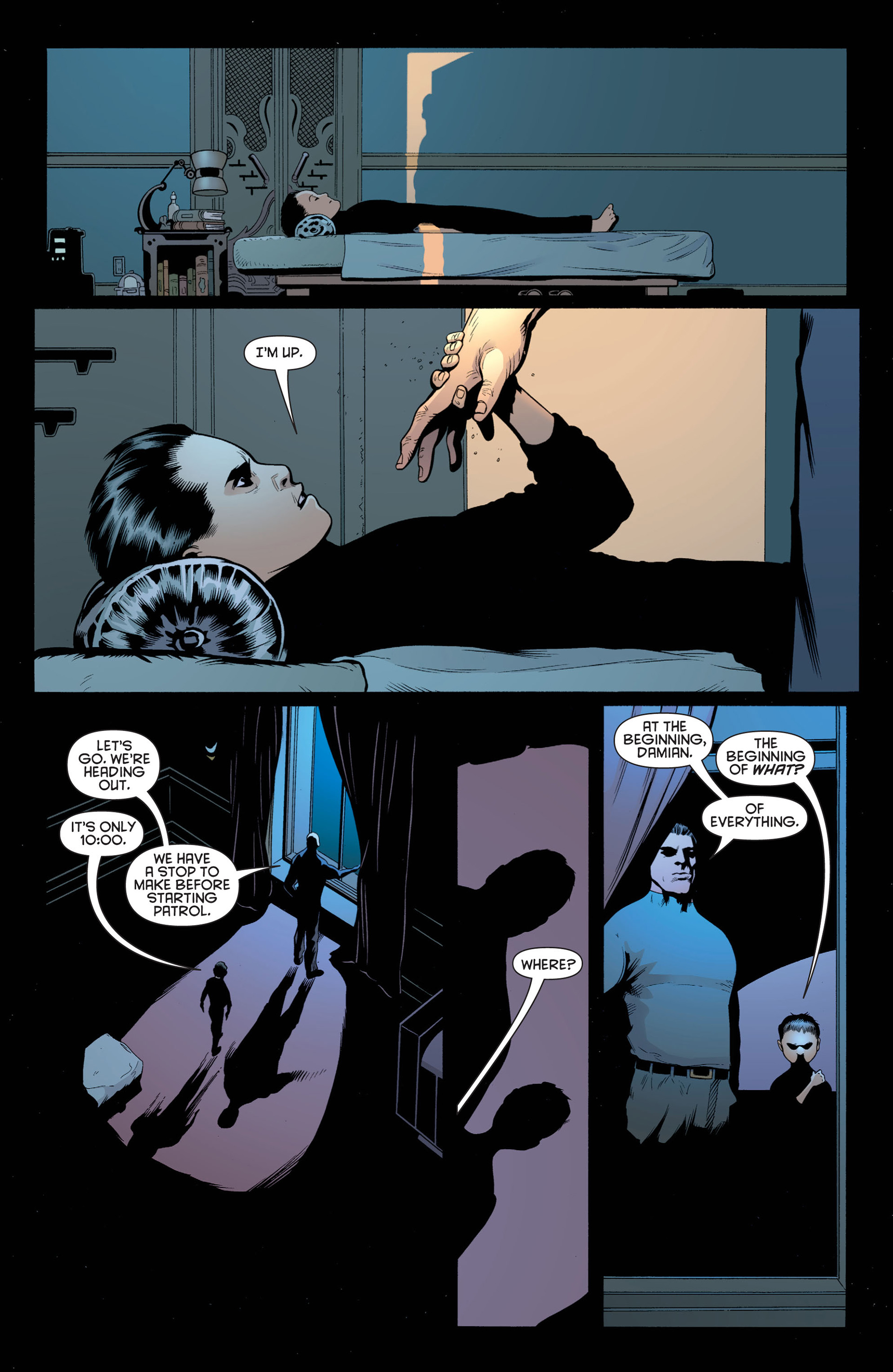 Read online Batman and Robin (2011) comic -  Issue #1 - 7