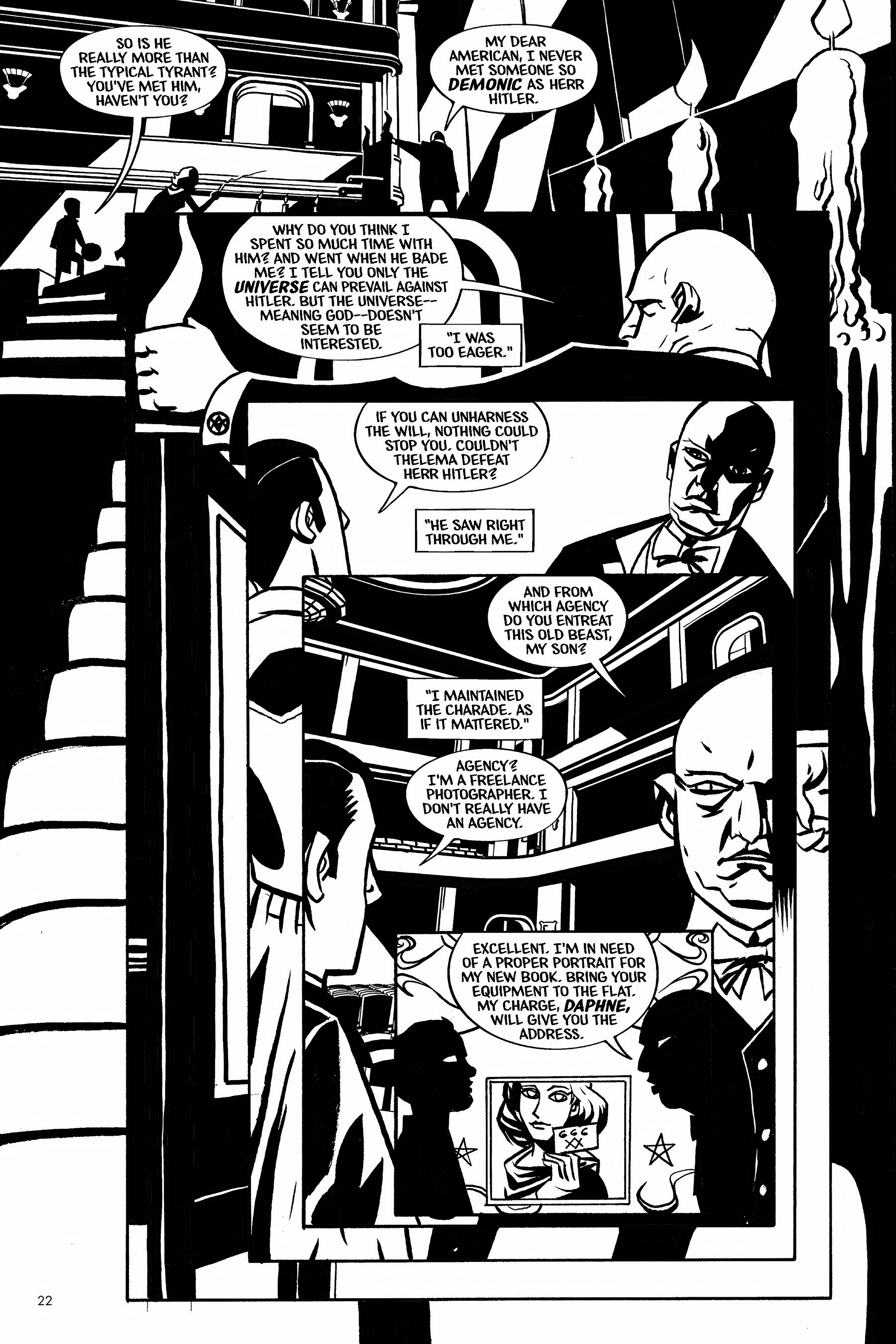 Read online Aleister & Adolf comic -  Issue # TPB - 22
