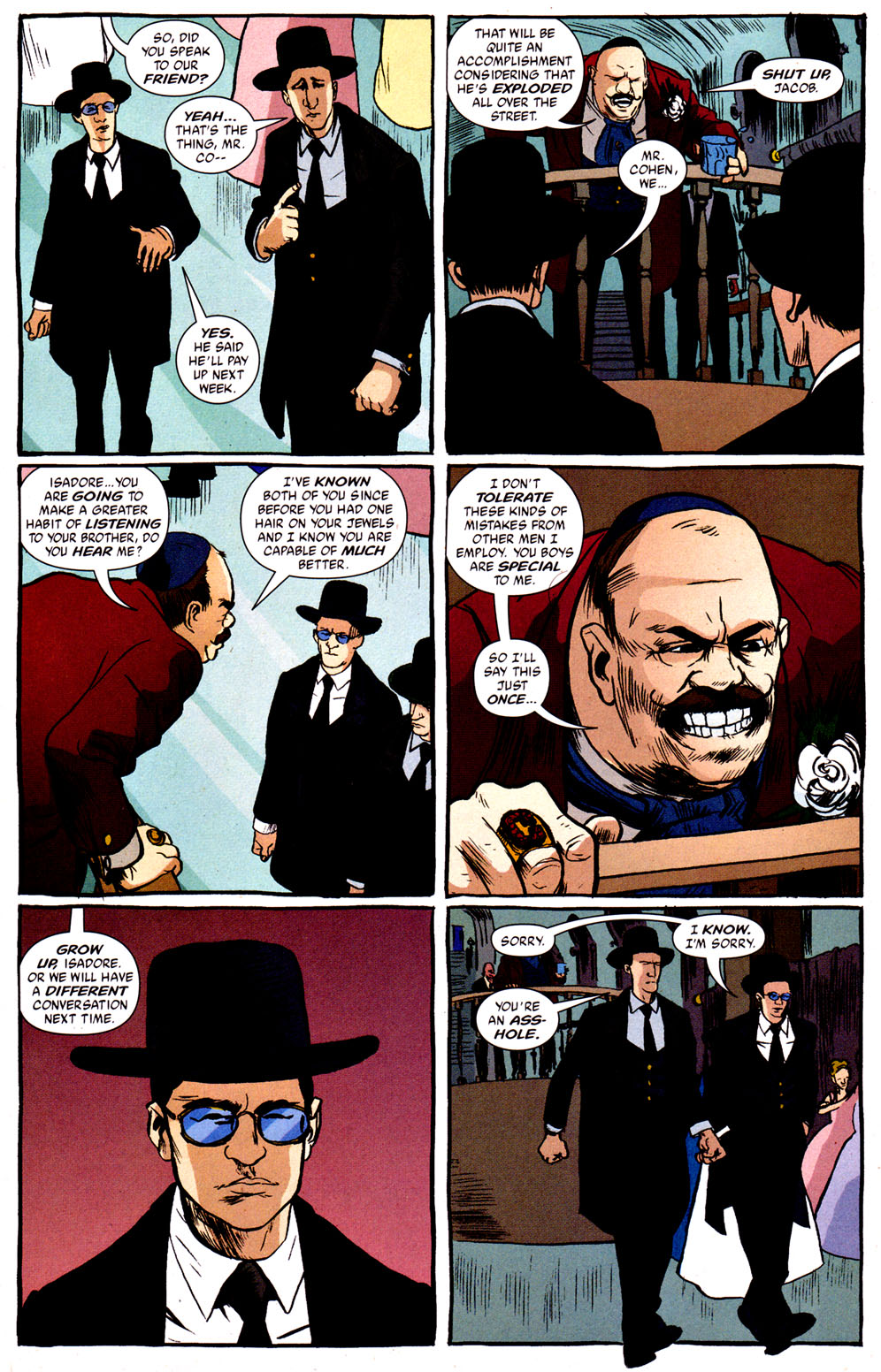 Read online Caper comic -  Issue #1 - 13