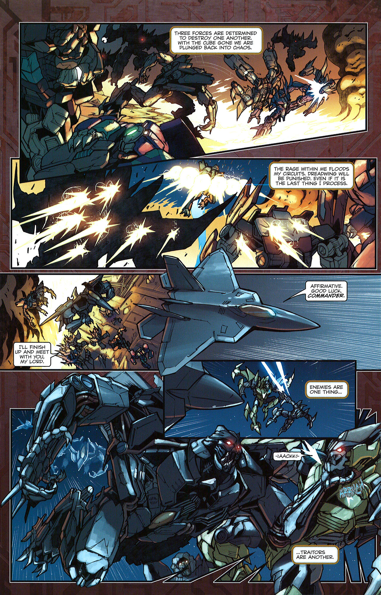 Read online Transformers: The Reign of Starscream comic -  Issue #5 - 18