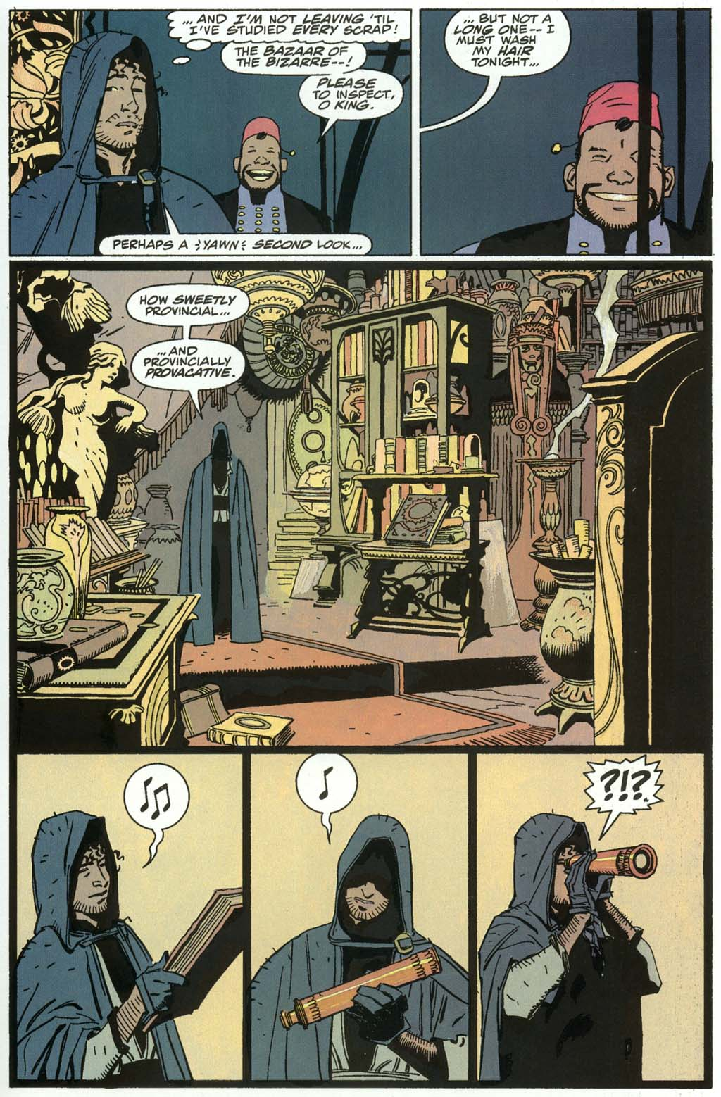 Read online Fafhrd and the Gray Mouser comic -  Issue #3 - 29