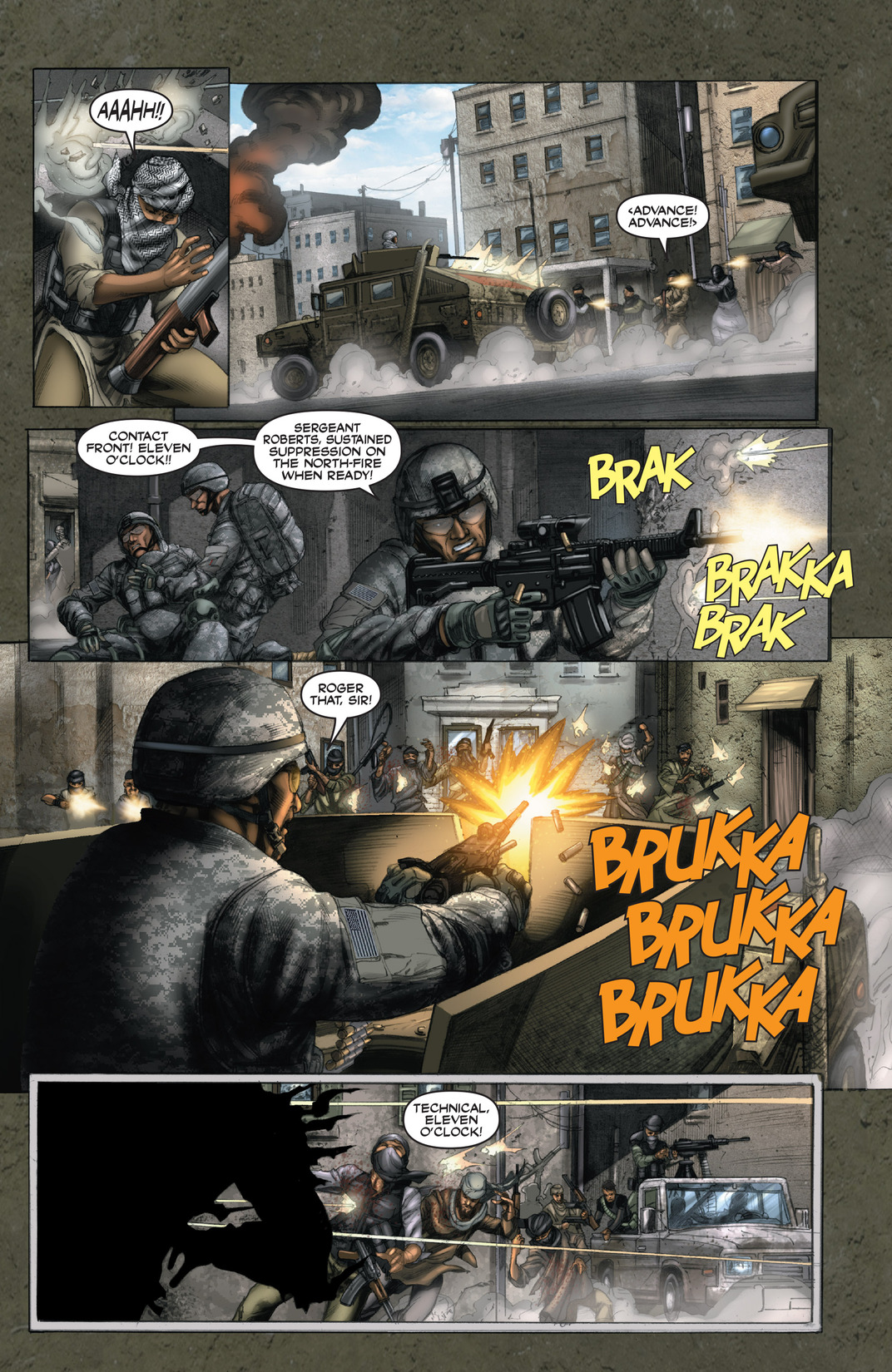 Read online America's Army comic -  Issue #13 - 14