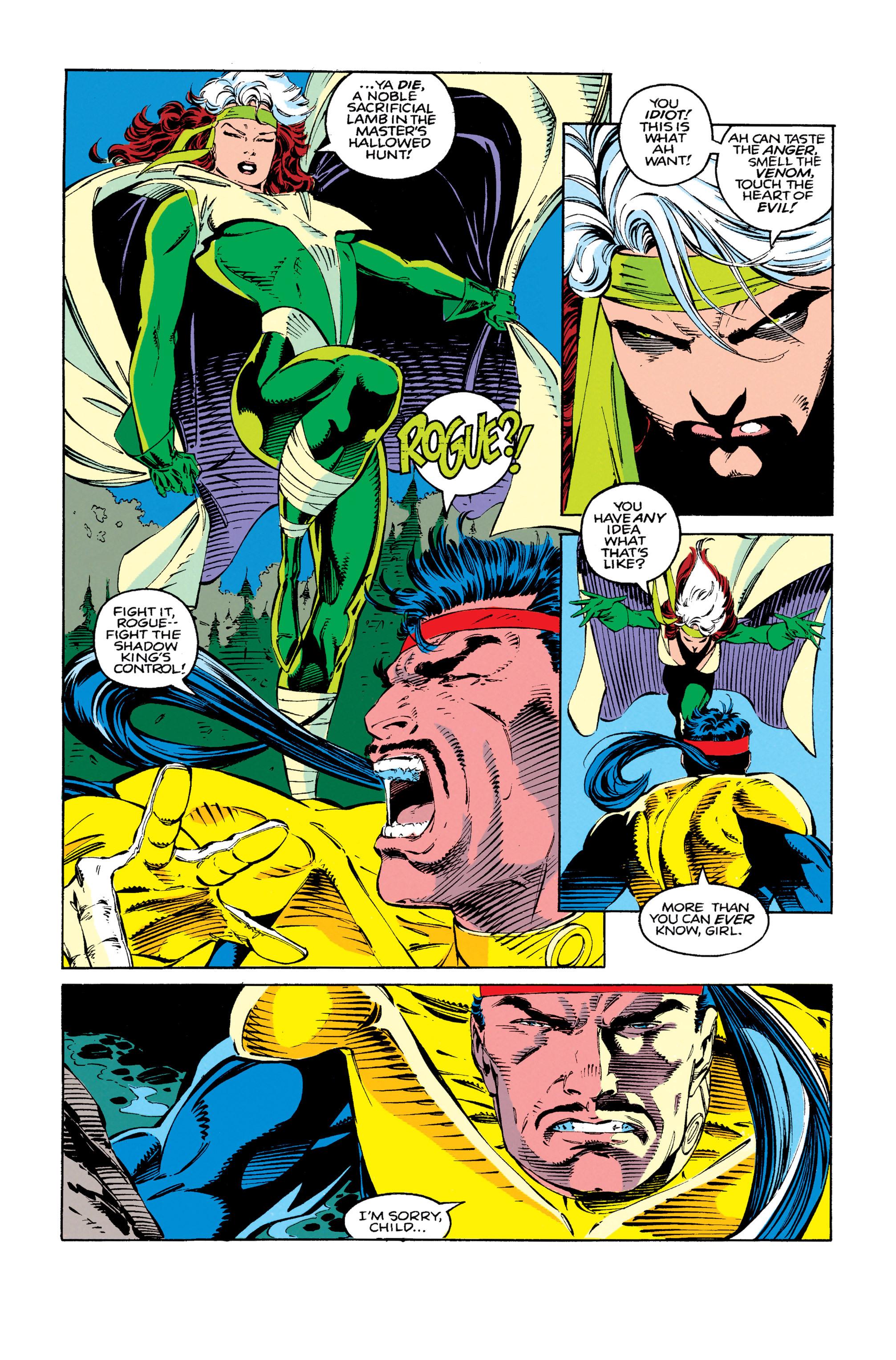Read online Uncanny X-Men (1963) comic -  Issue #279 - 19
