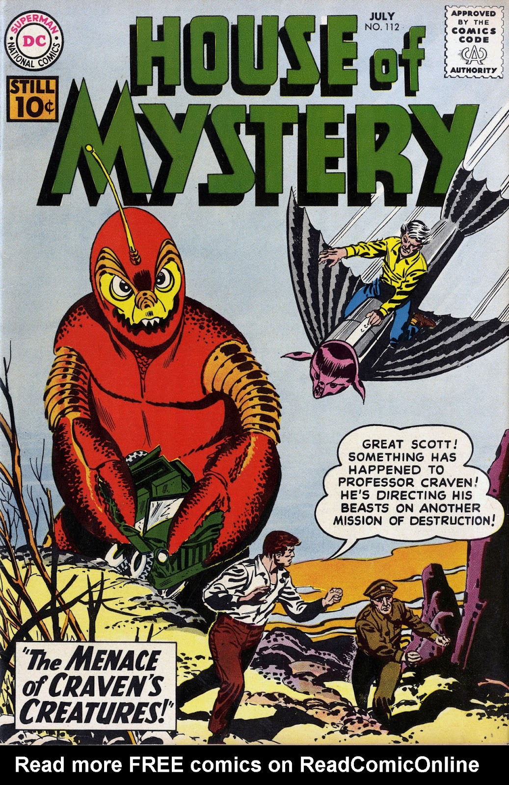 House of Mystery (1951) issue 112 - Page 1