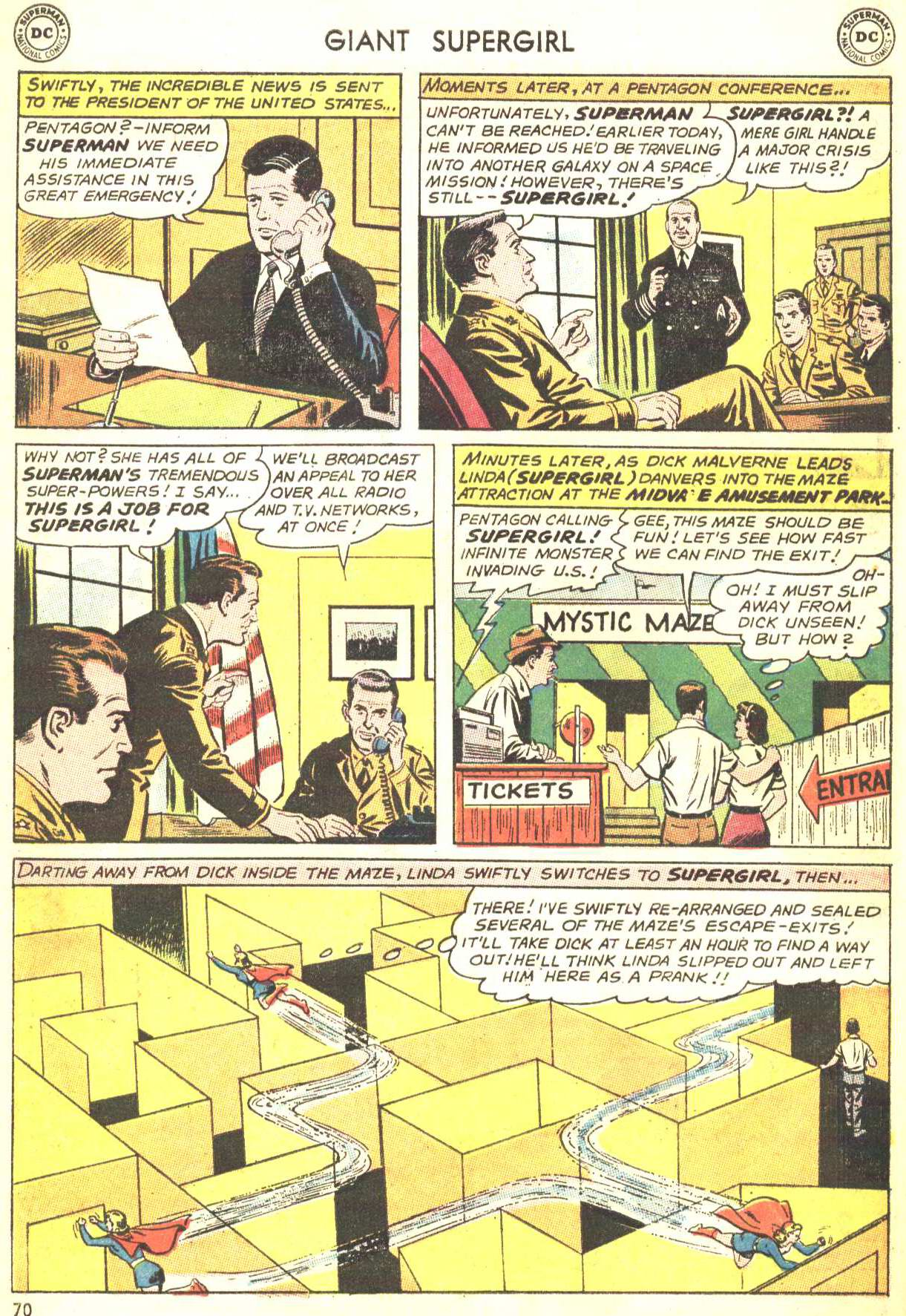 Read online Action Comics (1938) comic -  Issue #360 - 69